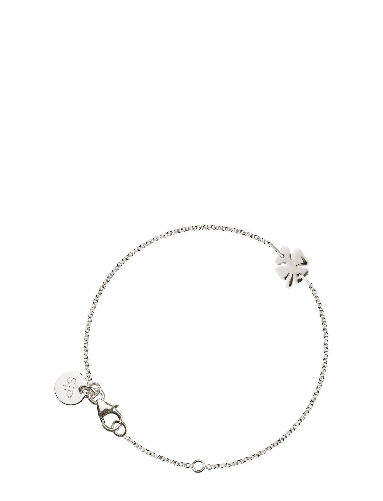 Syster P Bring Me Luck Bracelet Silver Accessories Jewellery Bracelets Chain Bracelets Hopea Syster P