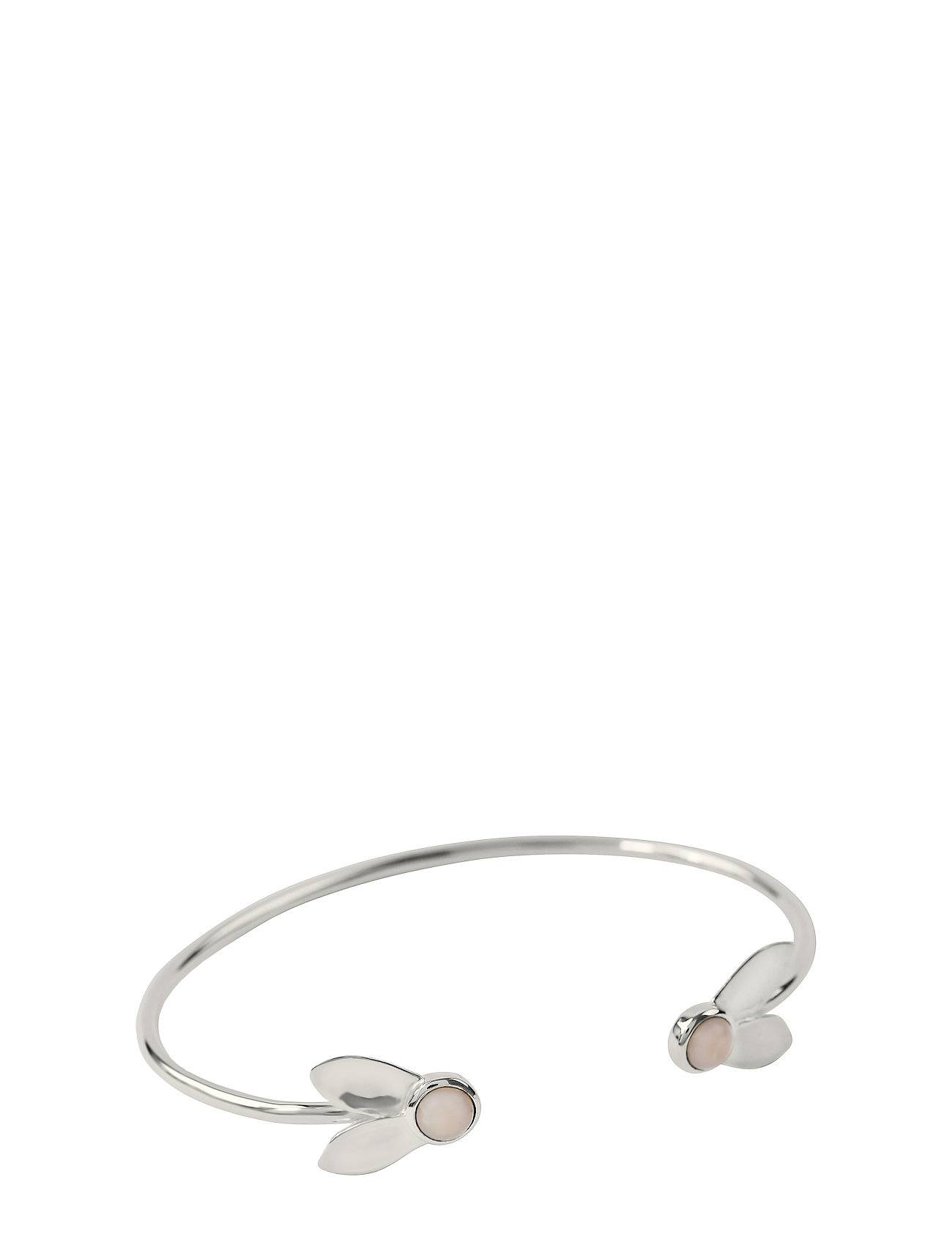 Syster P Flakes Bangle Silver Pink Opal Accessories Jewellery Bracelets Bangles Hopea Syster P