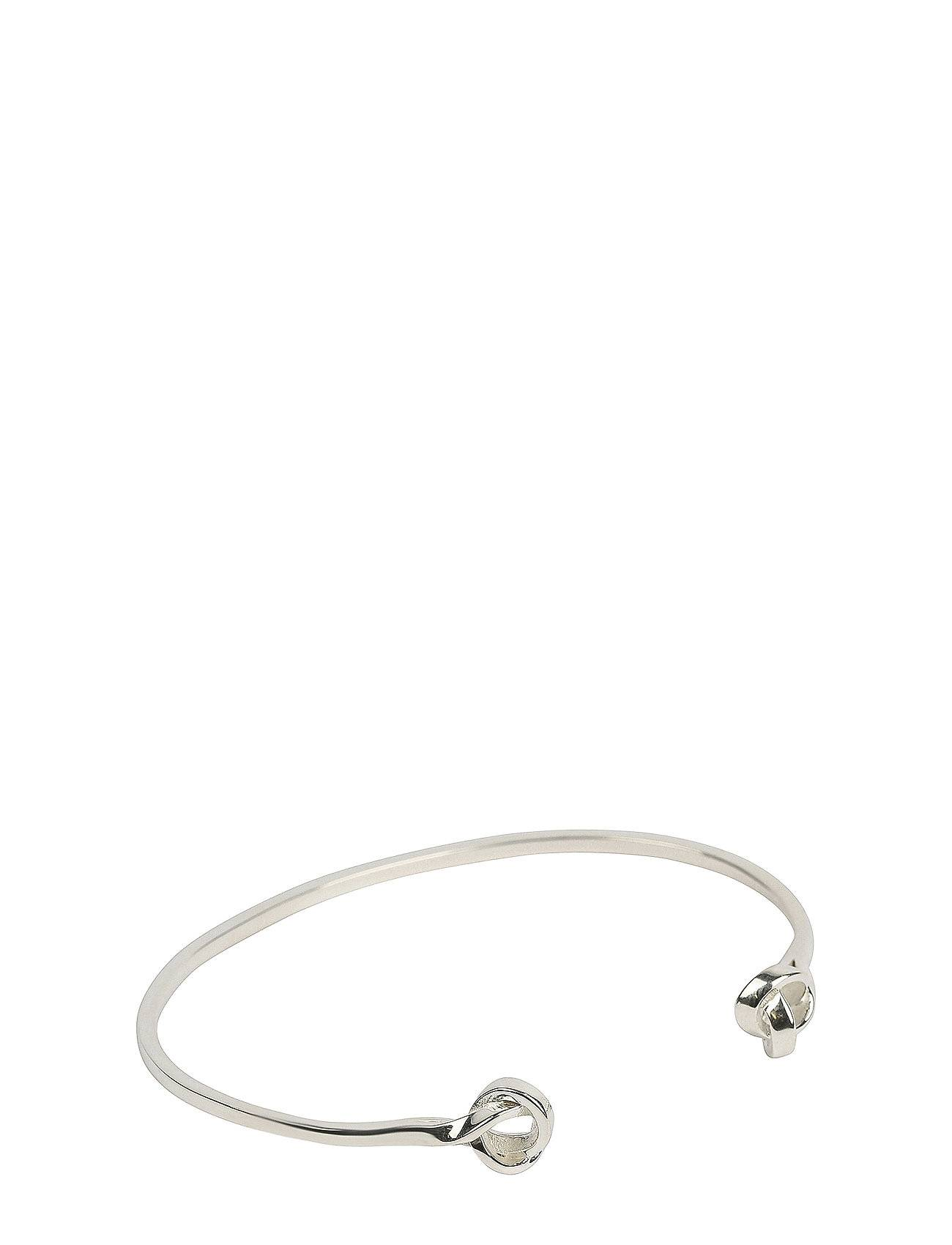 Syster P Tied Bangle Silver Accessories Jewellery Bracelets Bangles Hopea Syster P