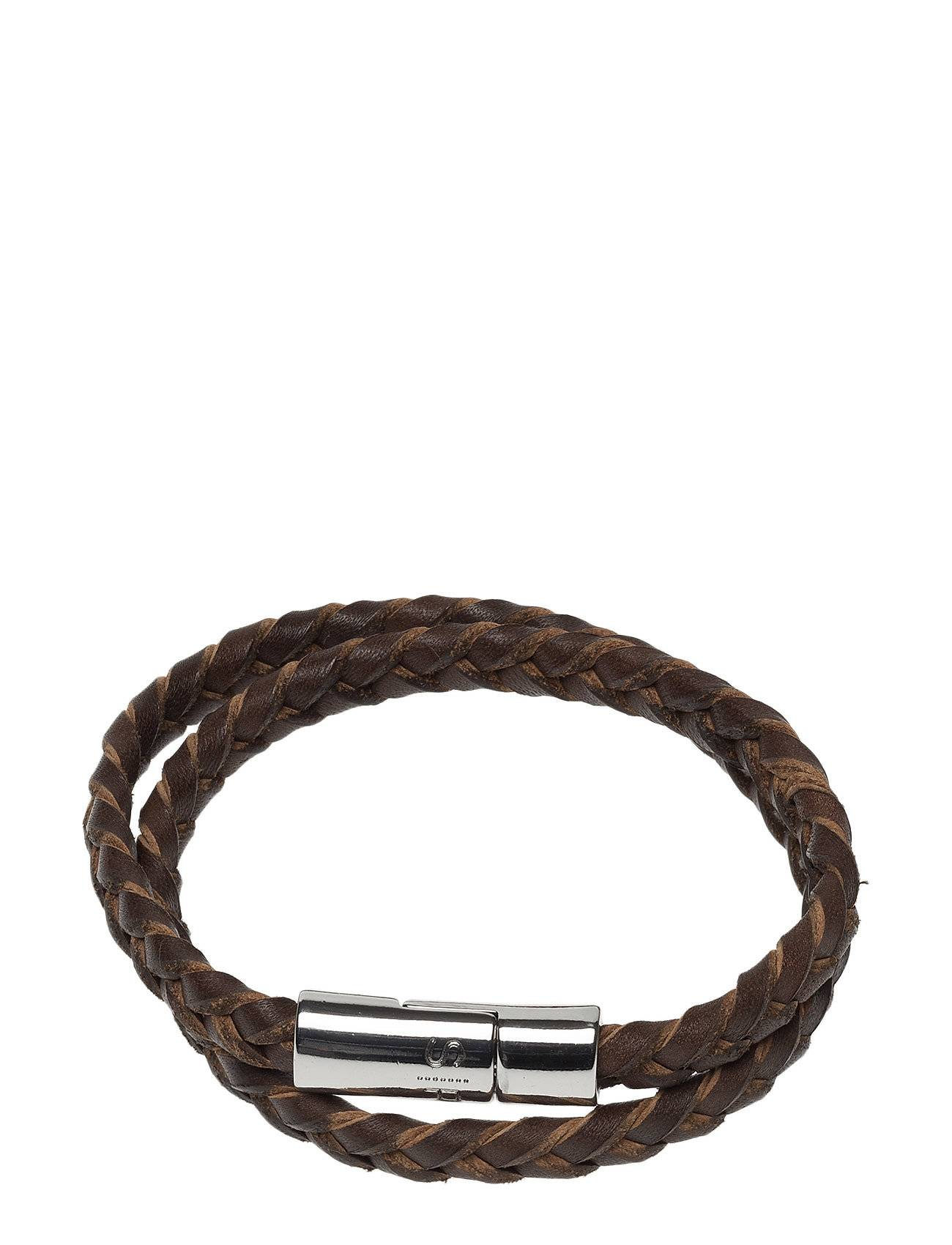 Syster P Rick Bracelet Brown Accessories Jewellery Ruskea Syster P