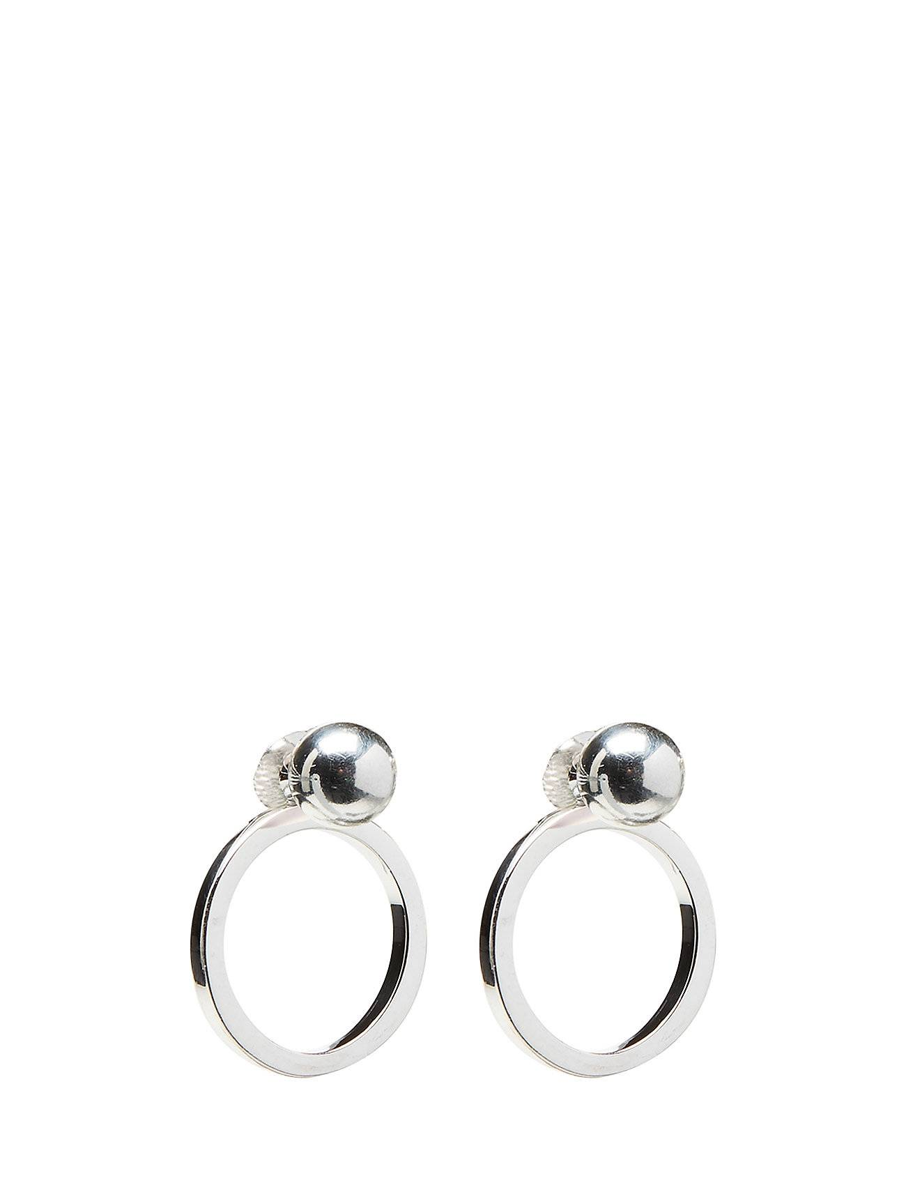 Syster P Planet Earrings Silver Silver Accessories Jewellery Earrings Studs Hopea Syster P