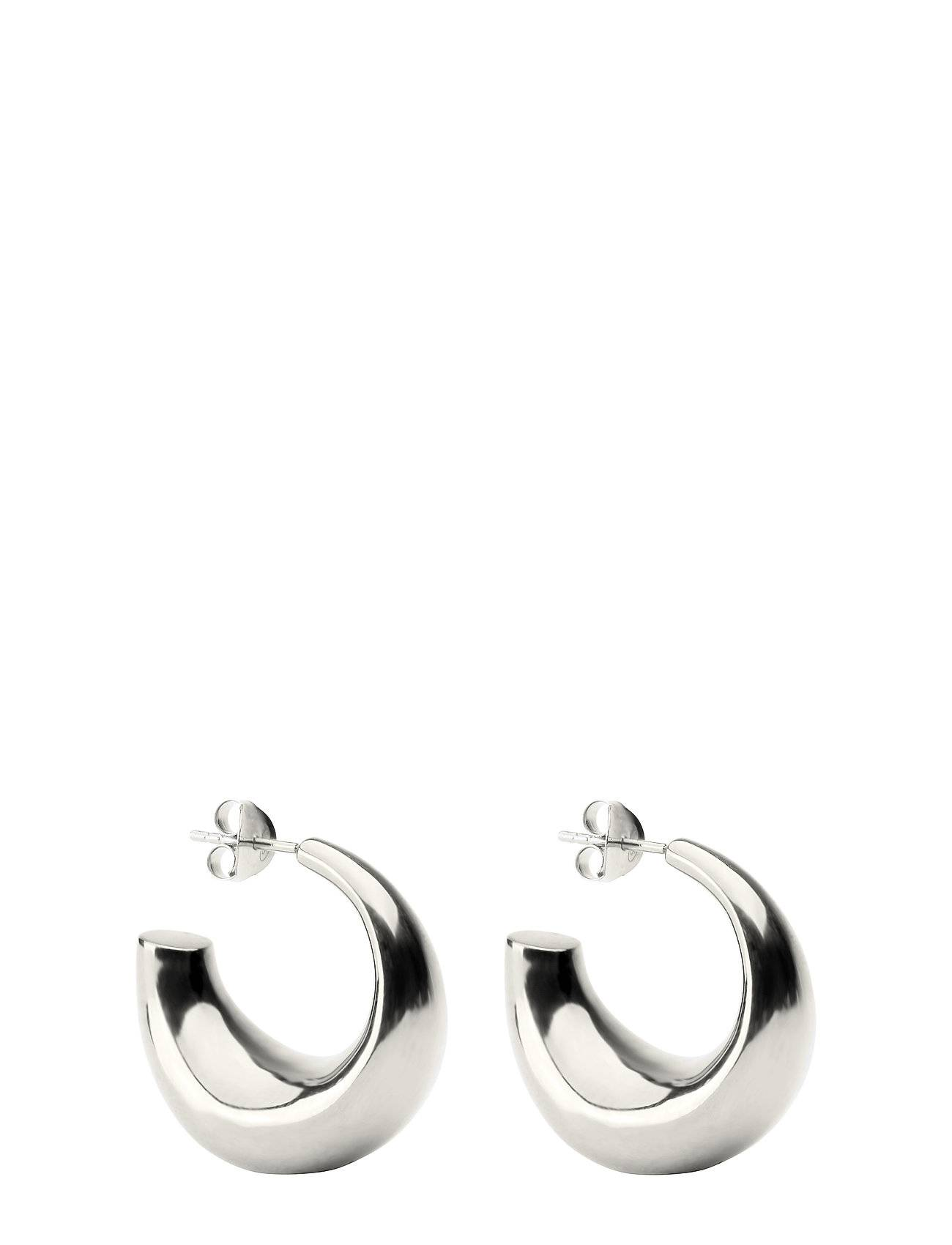 Syster P Bolded Earring Silver Accessories Jewellery Earrings Hoops Hopea Syster P