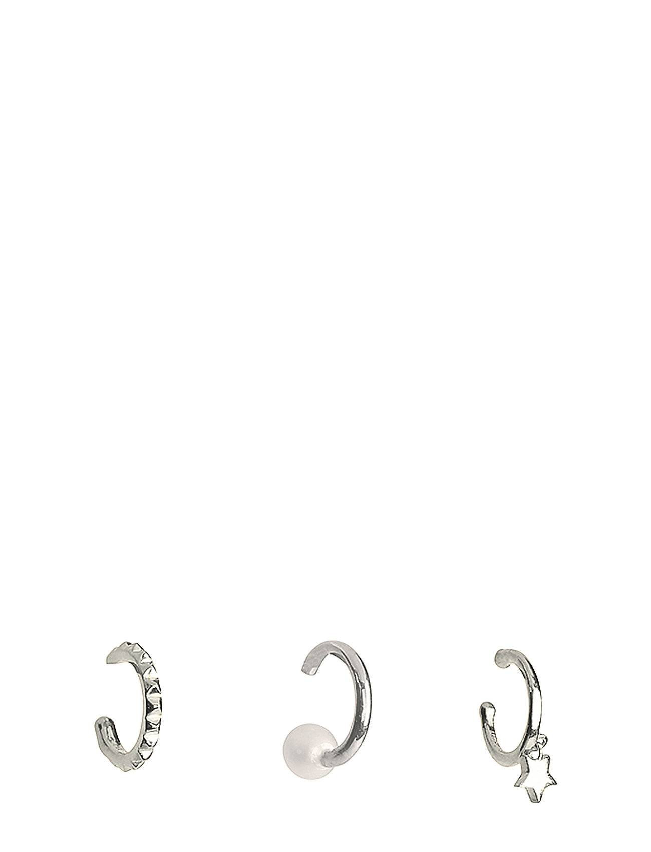Syster P Mini Cuff Collection Pearl And Star Silver Accessories Jewellery Earrings Hoops Hopea Syster P