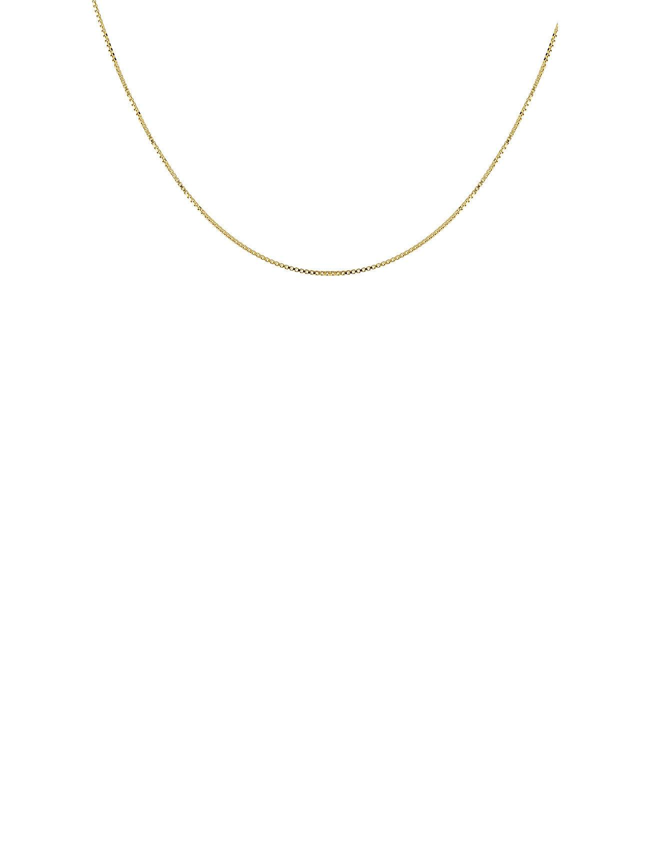 Syster P Beloved Chain Short Gold Accessories Jewellery Necklaces Dainty Necklaces Kulta Syster P
