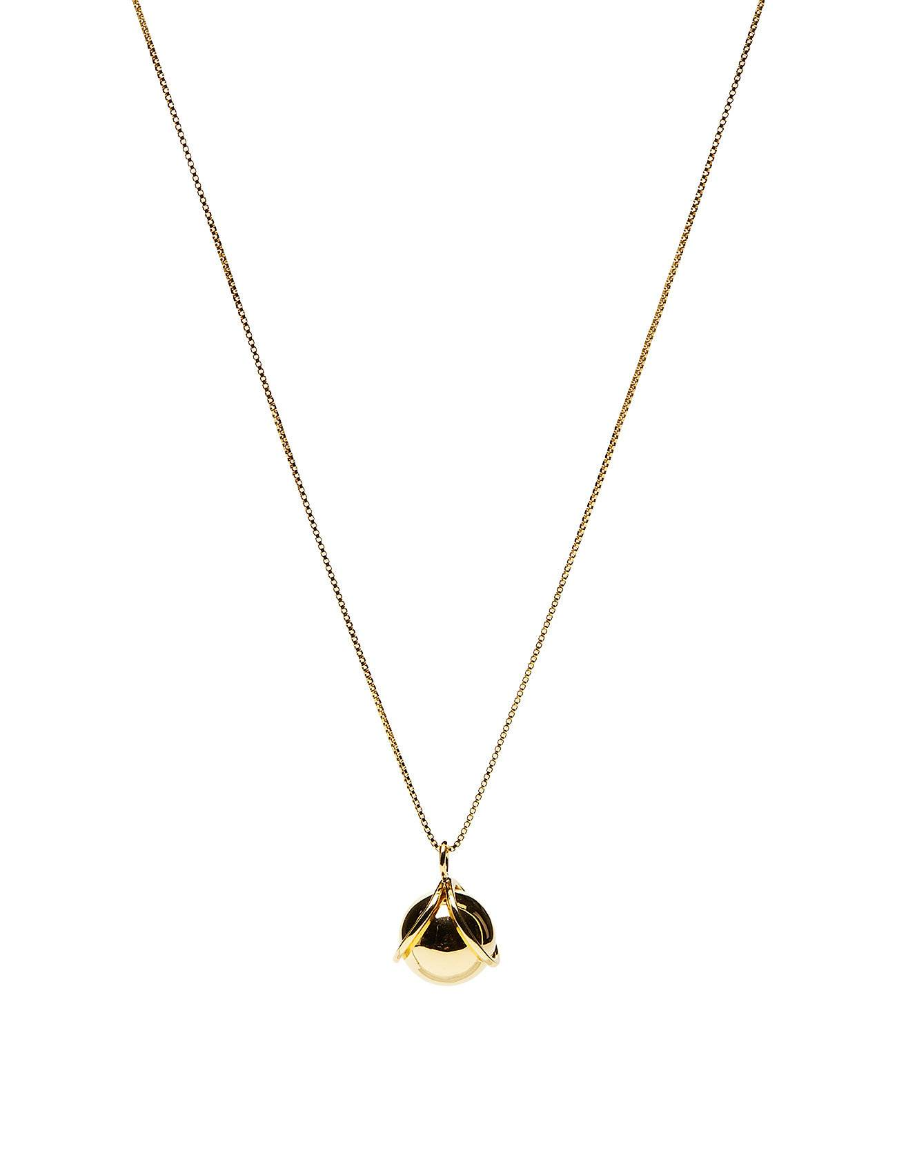 Syster P Planet Necklace Gold Gold Accessories Jewellery Necklaces Dainty Necklaces Kulta Syster P