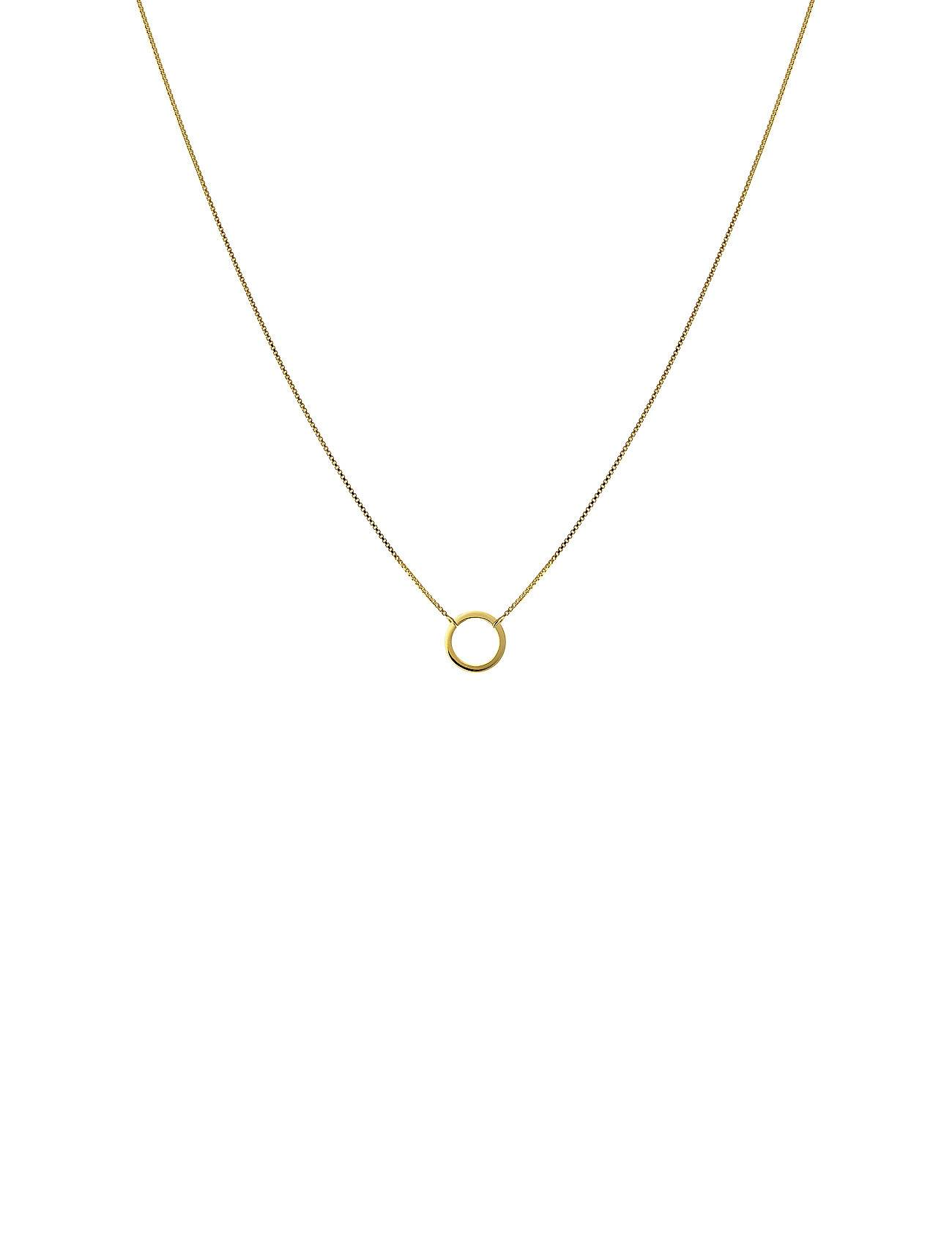 Syster P Minimalistica Ring Necklace Gold Accessories Jewellery Necklaces Dainty Necklaces Kulta Syster P