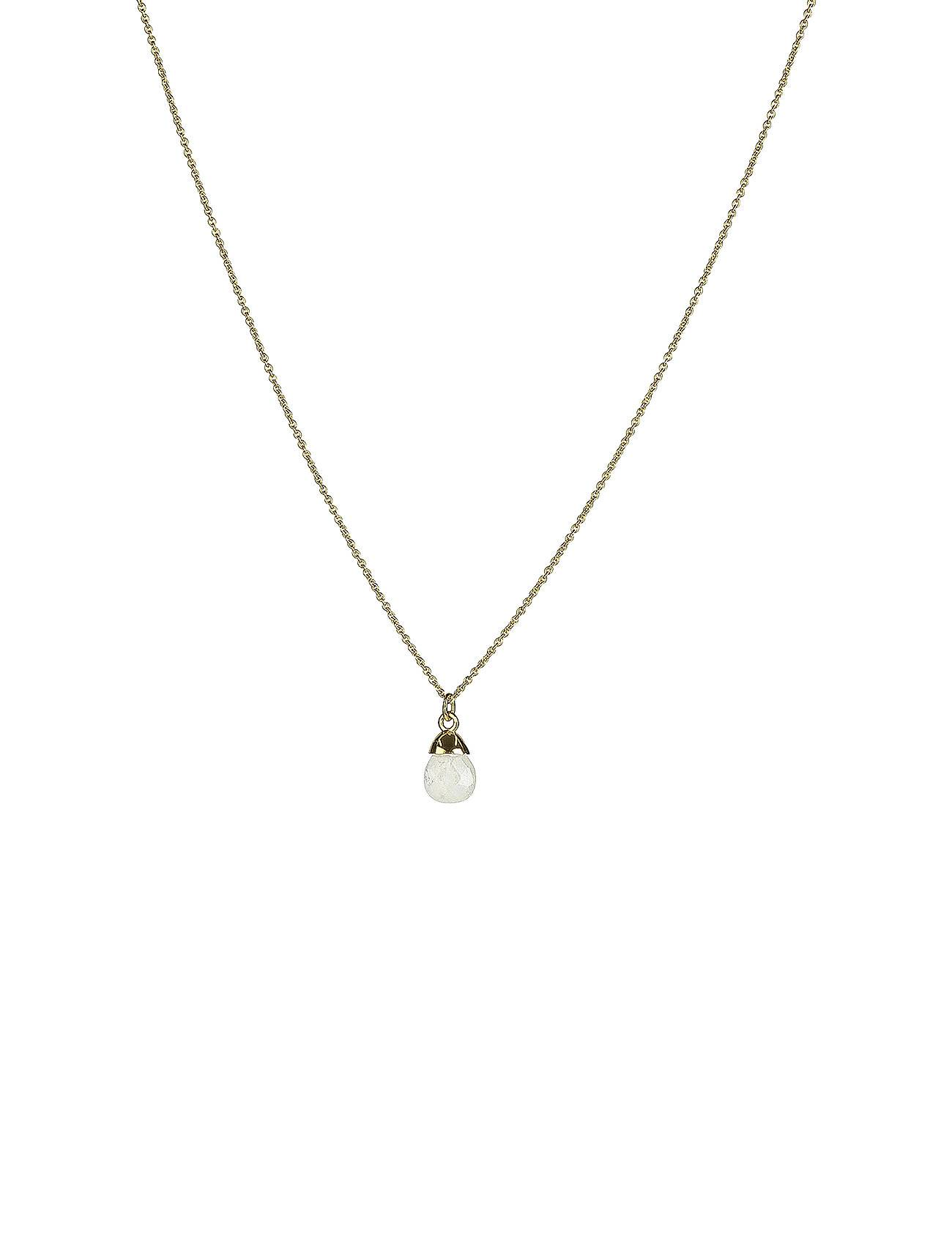 Syster P Mini Teardrop Necklace Gold Accessories Jewellery Necklaces Dainty Necklaces Kulta Syster P