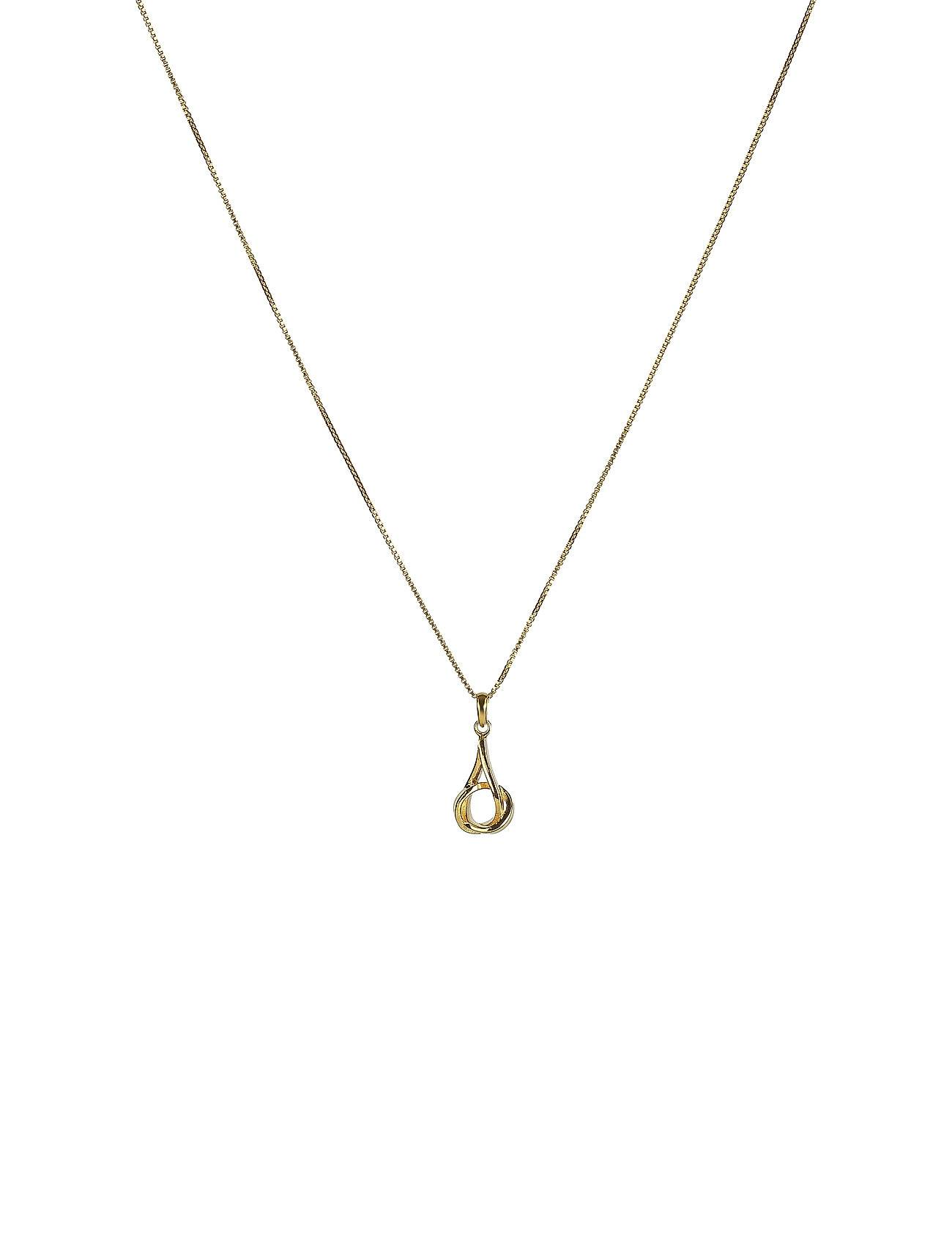 Syster P Tied Necklace Gold Accessories Jewellery Necklaces Dainty Necklaces Kulta Syster P