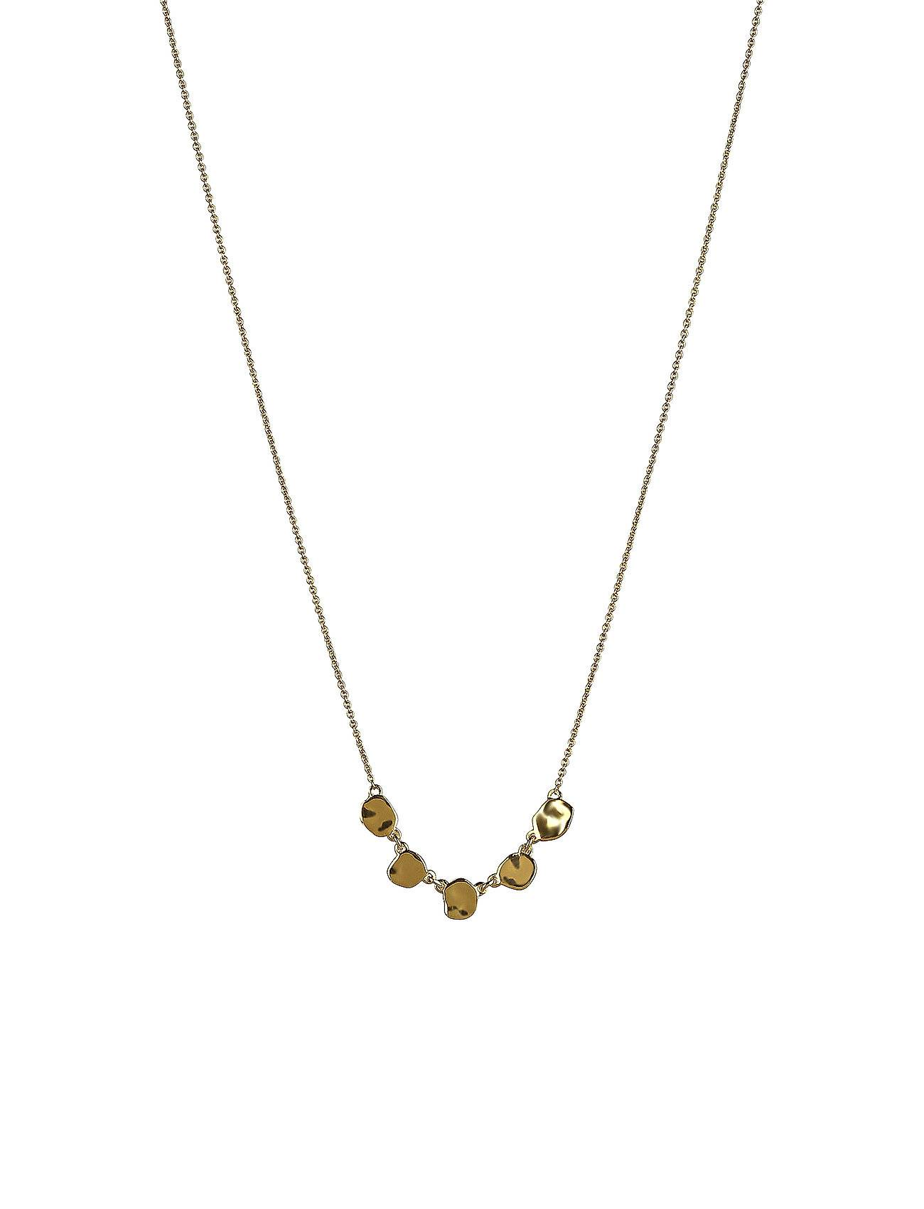 Syster P Divine Disc Necklace Gold Accessories Jewellery Necklaces Dainty Necklaces Kulta Syster P
