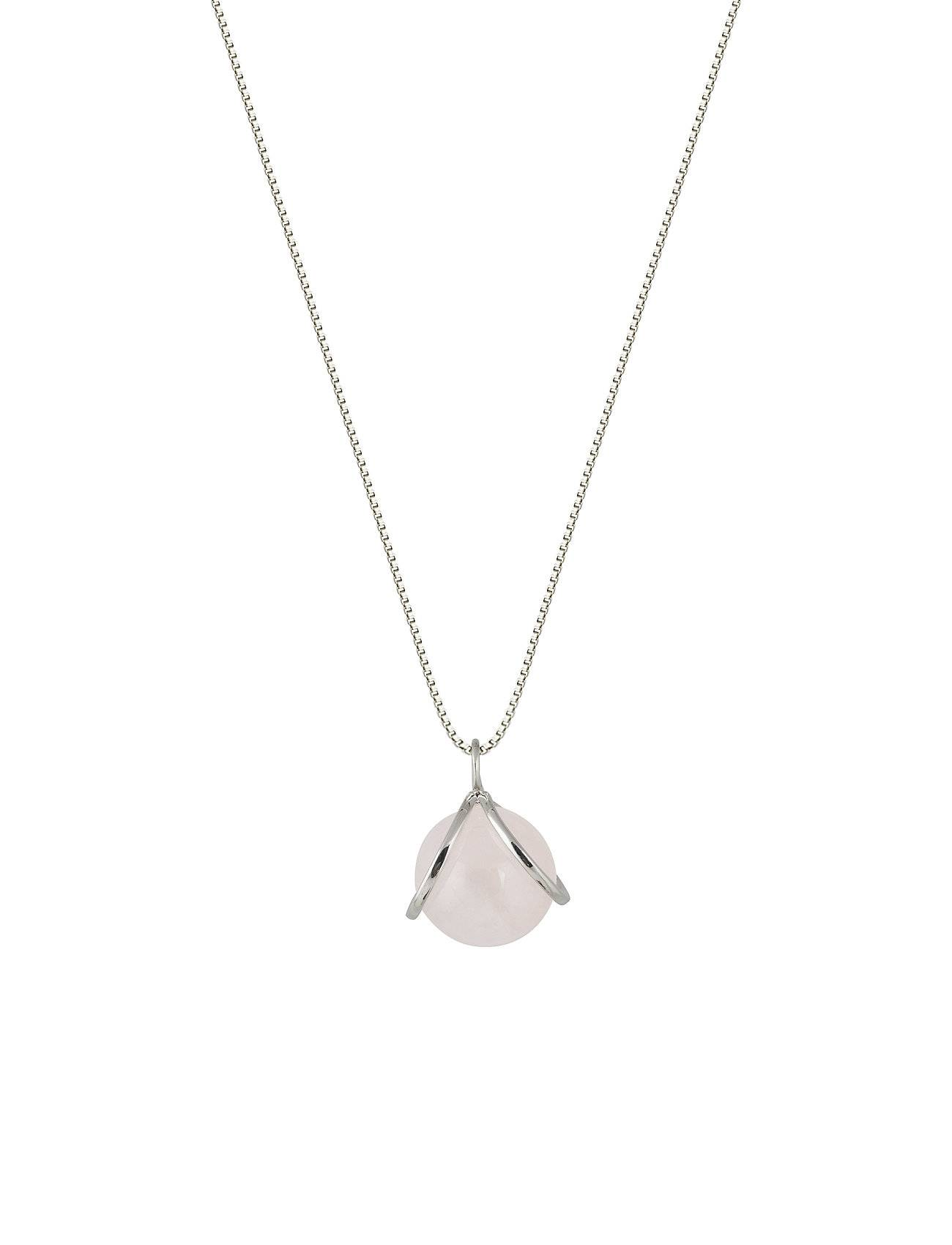 Syster P Planet Necklace Silver Rose Accessories Jewellery Necklaces Dainty Necklaces Hopea Syster P