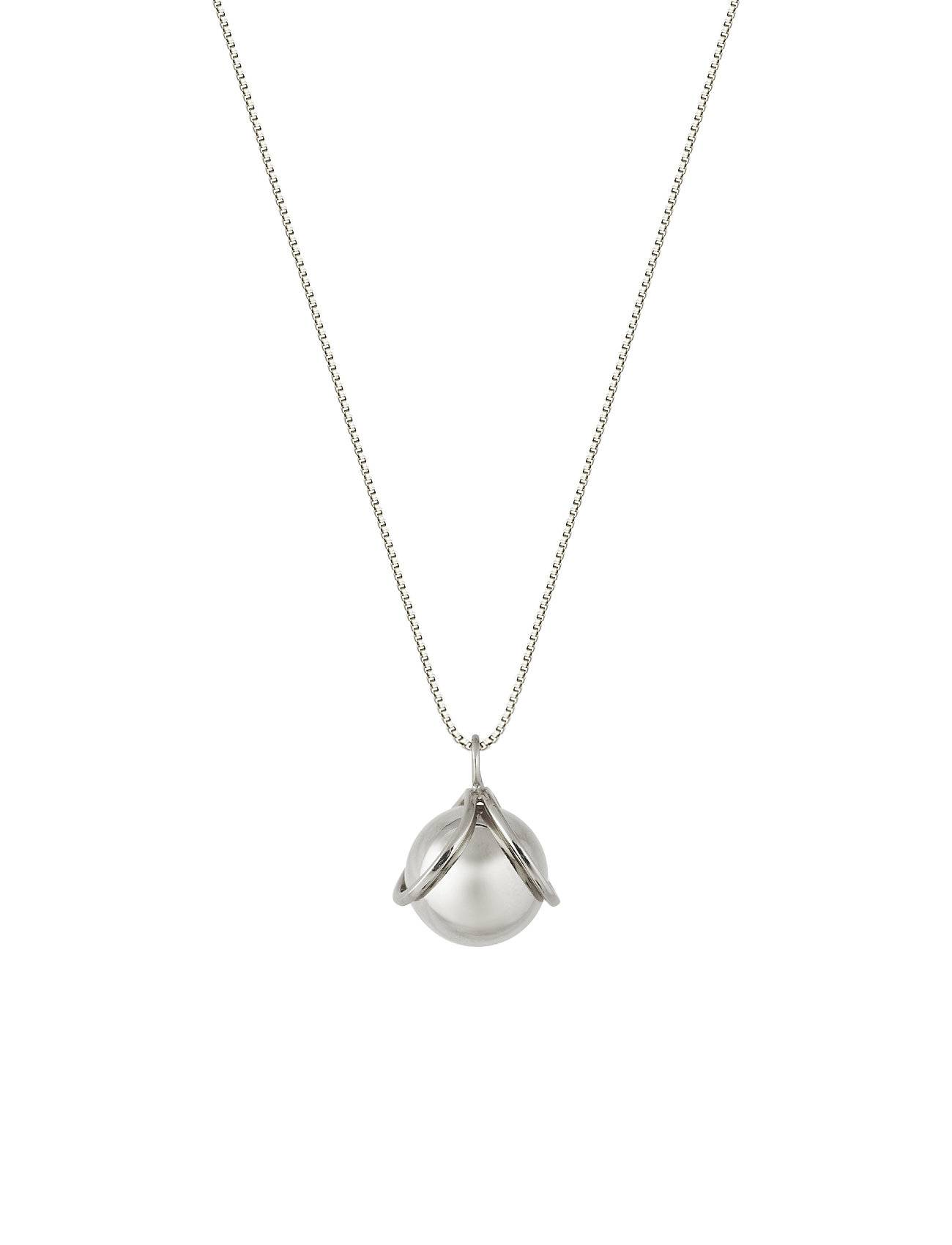 Syster P Planet Necklace Silver Silver Accessories Jewellery Necklaces Dainty Necklaces Hopea Syster P