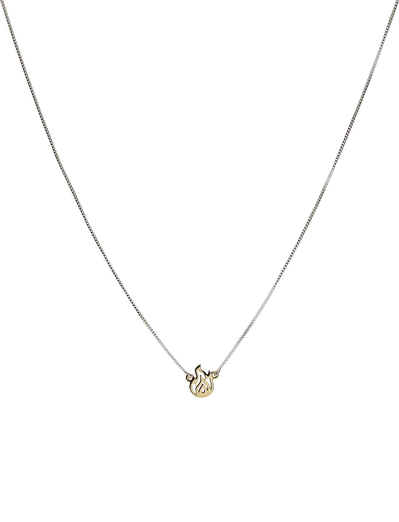 Syster P Snap Necklace Fire Accessories Jewellery Necklaces Dainty Necklaces Kulta Syster P