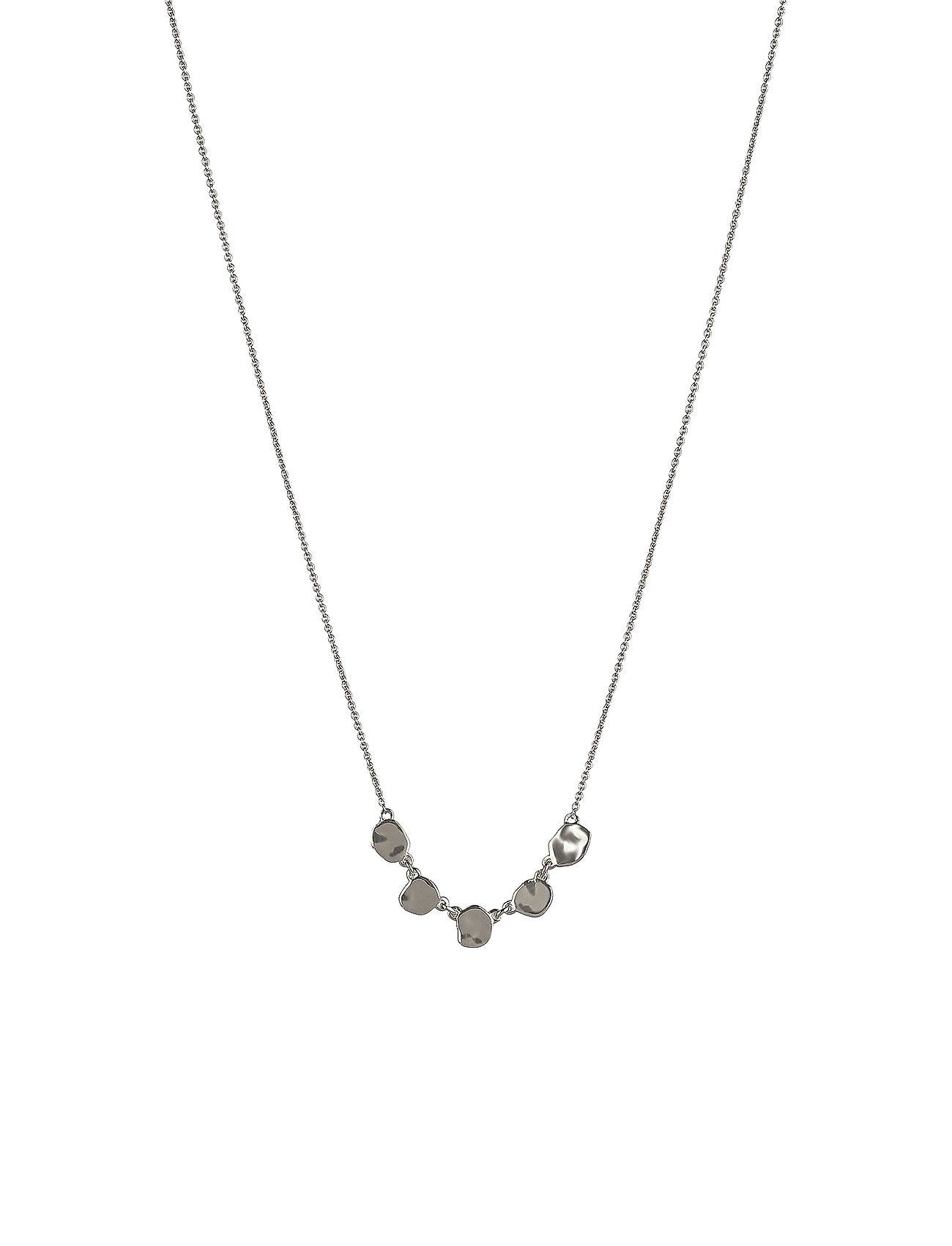 Syster P Divine Disc Necklace Silver Accessories Jewellery Necklaces Dainty Necklaces Hopea Syster P