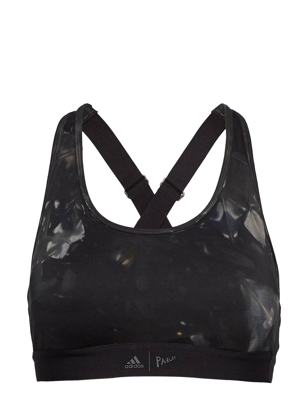 Image of adidas Performance Dtr Parley Bra Lingerie Bras & Tops Sports Bras - ALL Musta