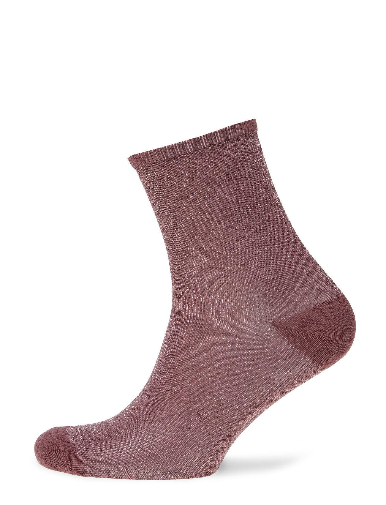 Becksöndergaard Dina Solid Lingerie Hosiery Socks Vaaleanpunainen Becksöndergaard