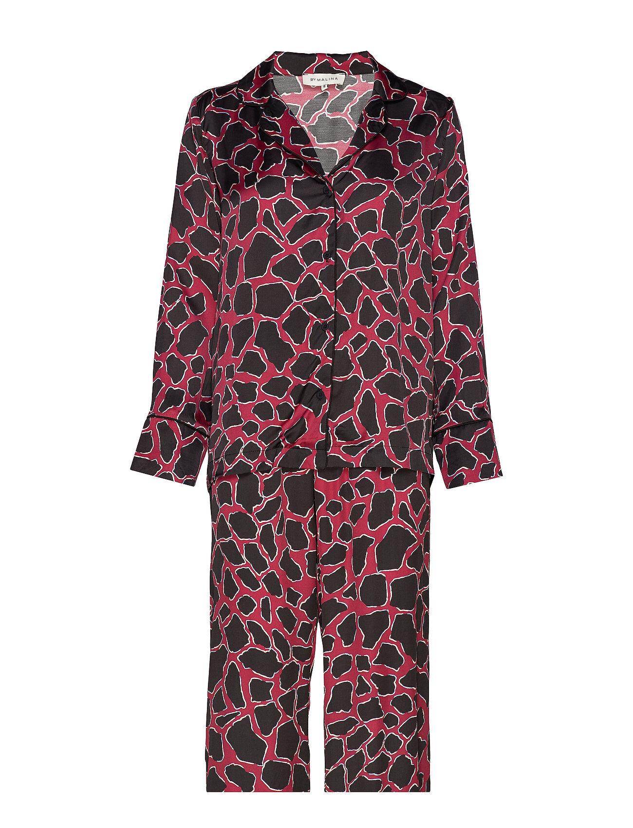 By Malina Edie Evening Set Pyjama Punainen By Malina