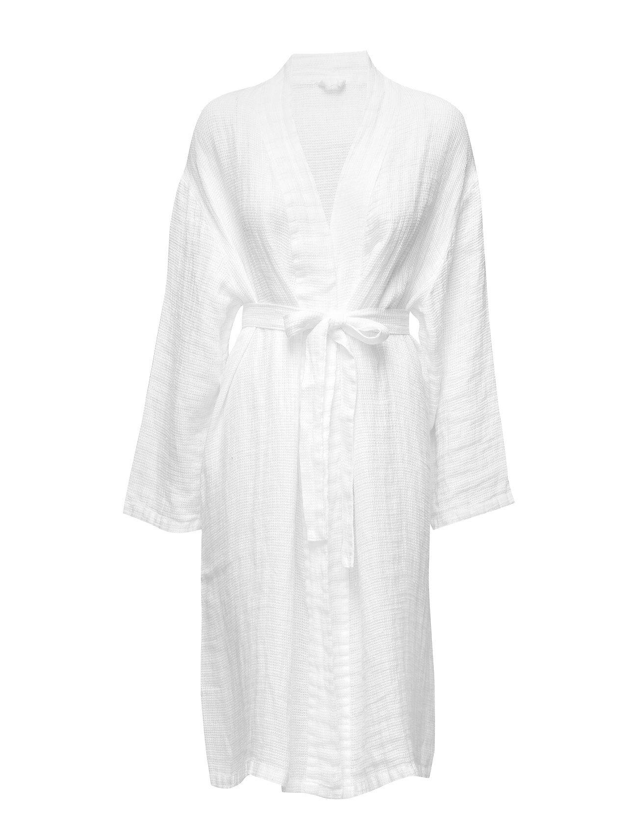 Himla Fresh Laundry Kimono Lingerie Bathroom Robes Valkoinen Himla
