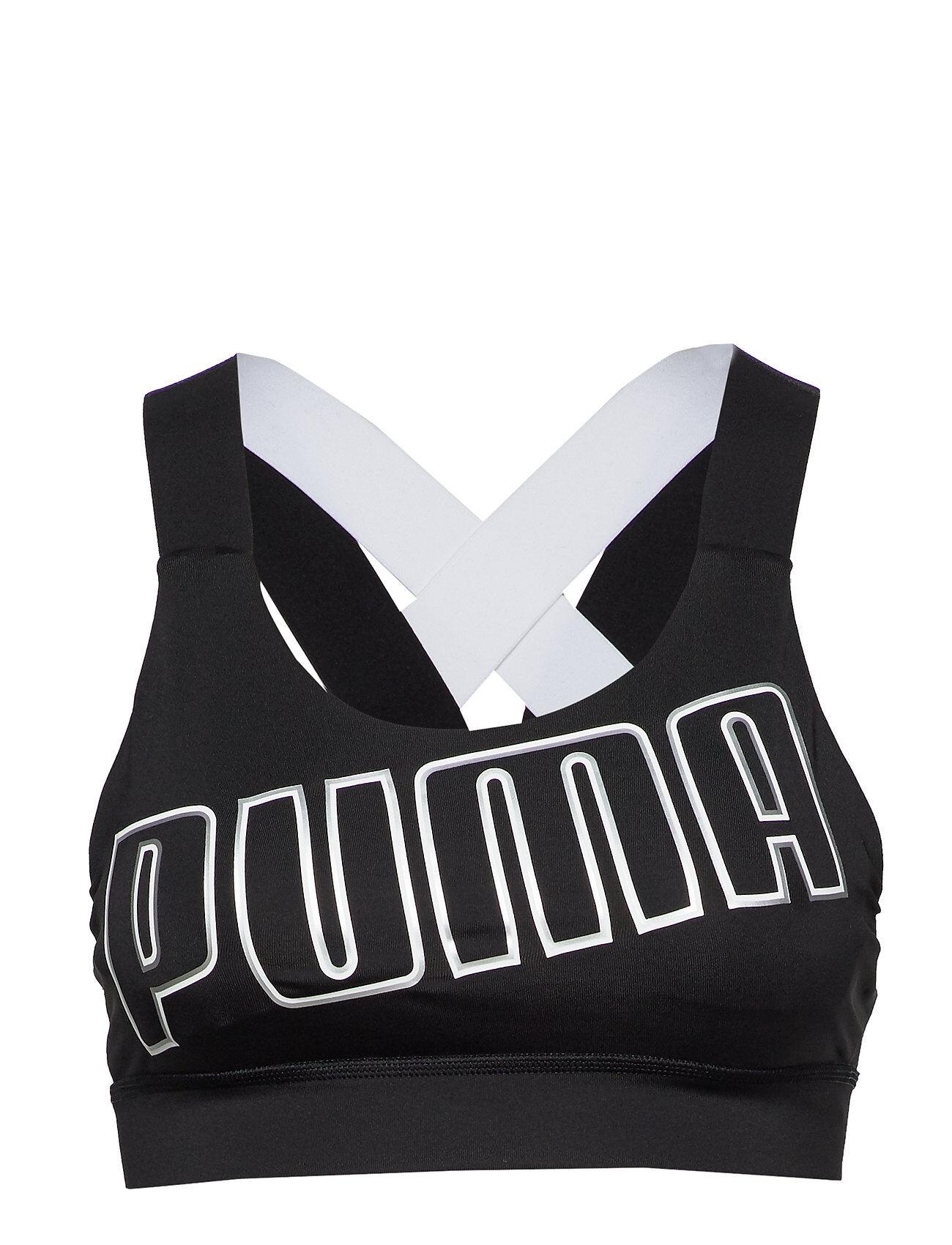 Image of PUMA Feel It Bra M Lingerie Bras & Tops Sports Bras - ALL Musta PUMA