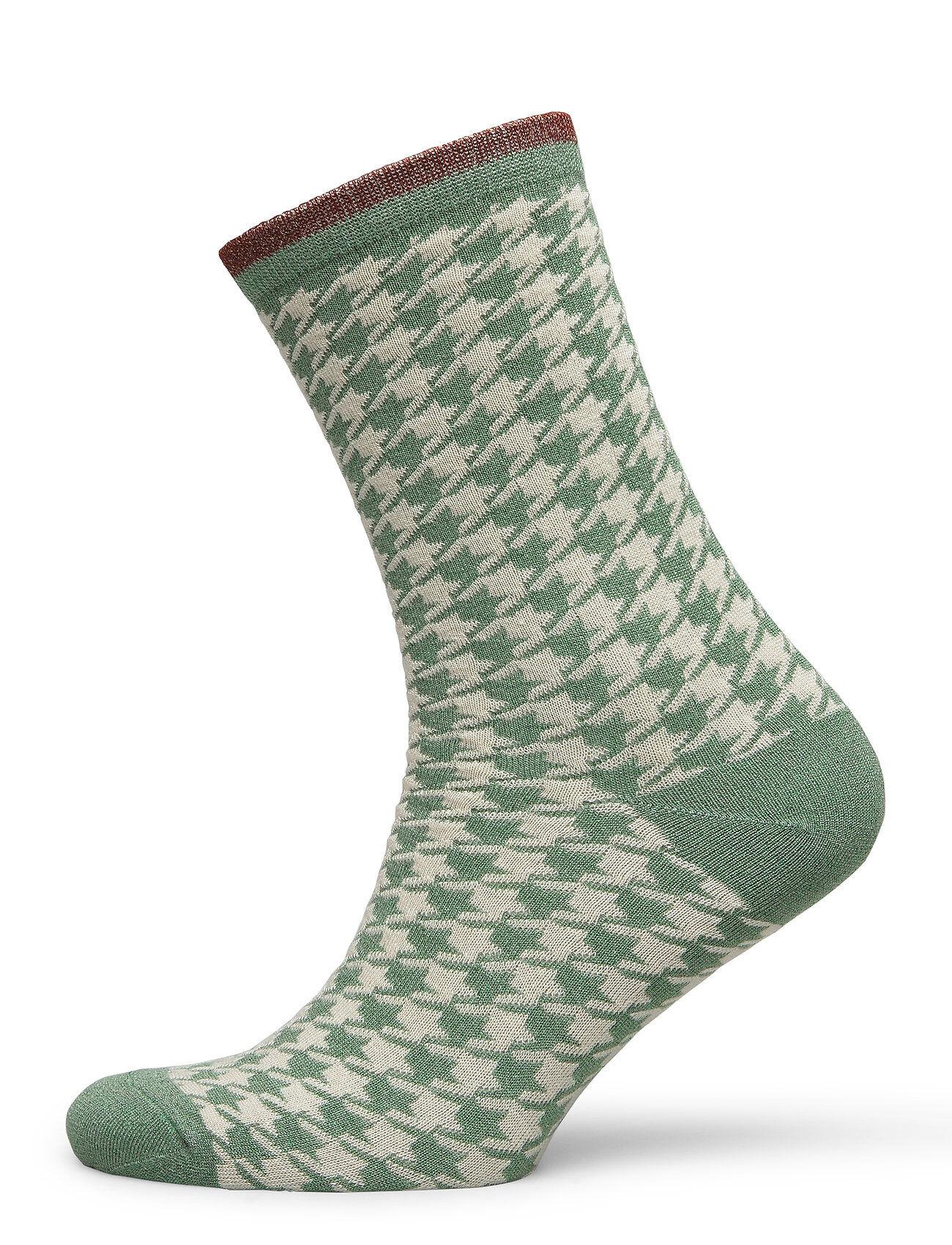 Selected Femme Slfvida Sock B Lingerie Hosiery Socks Vihreä Selected Femme