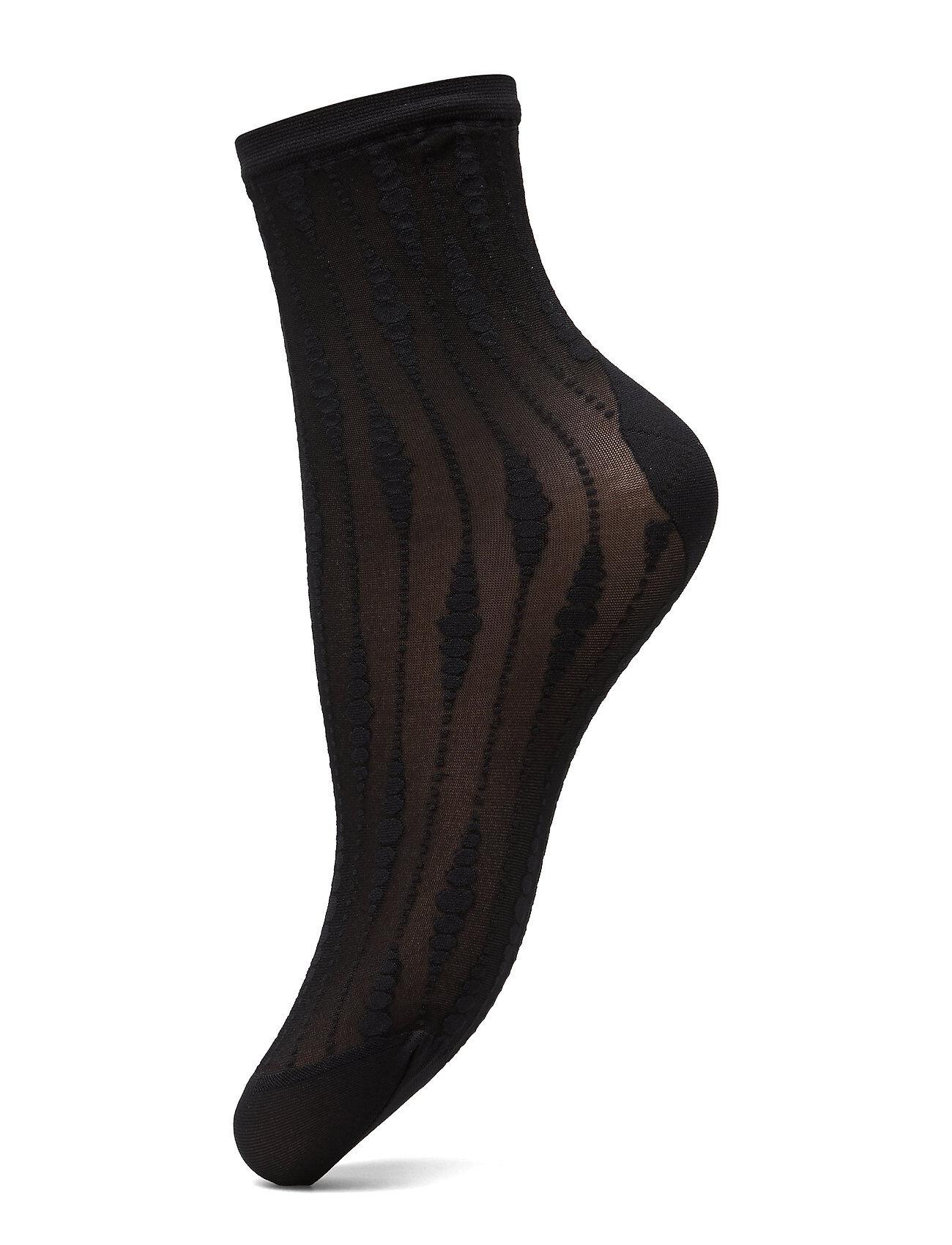 Swedish Stockings Josefin Drop Socks 20 Den Lingerie Hosiery Socks Musta Swedish Stockings