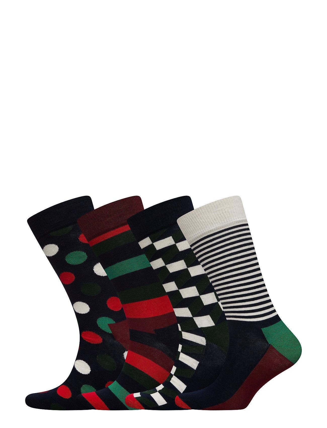 Happy Socks Holiday Big Dot Gift Box Sukat Monivärinen/Kuvioitu Happy Socks