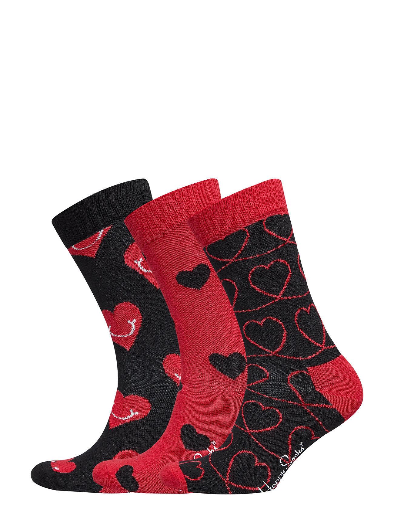 Happy Socks I Love You Gift Box Underwear Socks Regular Socks Musta Happy Socks