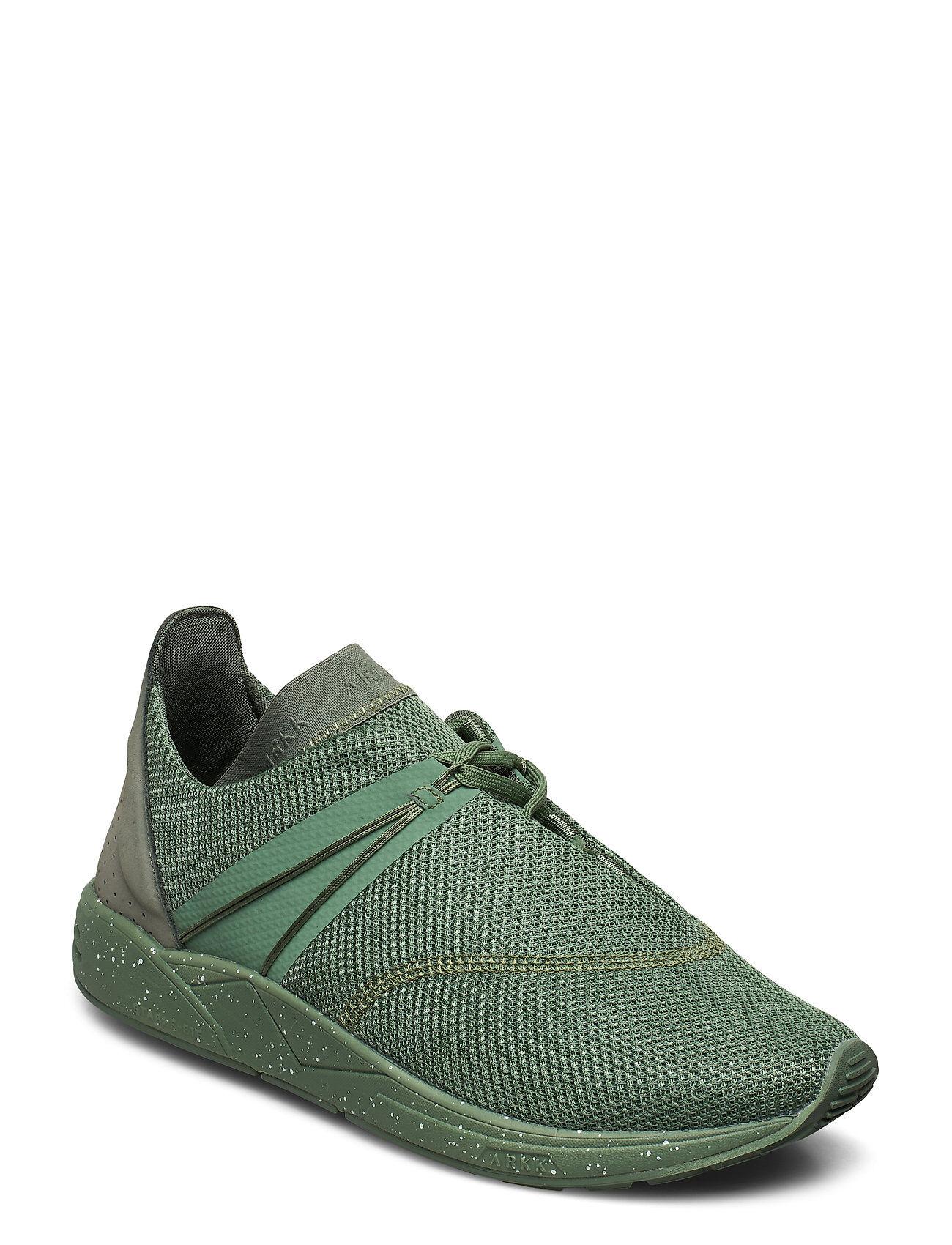 ARKK Copenhagen Eaglezero Mesh S-E15 Sage Green Spray Matalavartiset Sneakerit Tennarit Vihreä ARKK Copenhagen