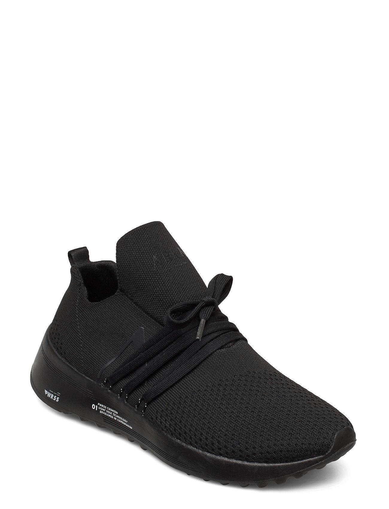ARKK Copenhagen Raven Fg 2.0 Pwr55 Black White - Me Matalavartiset Sneakerit Tennarit Musta ARKK Copenhagen