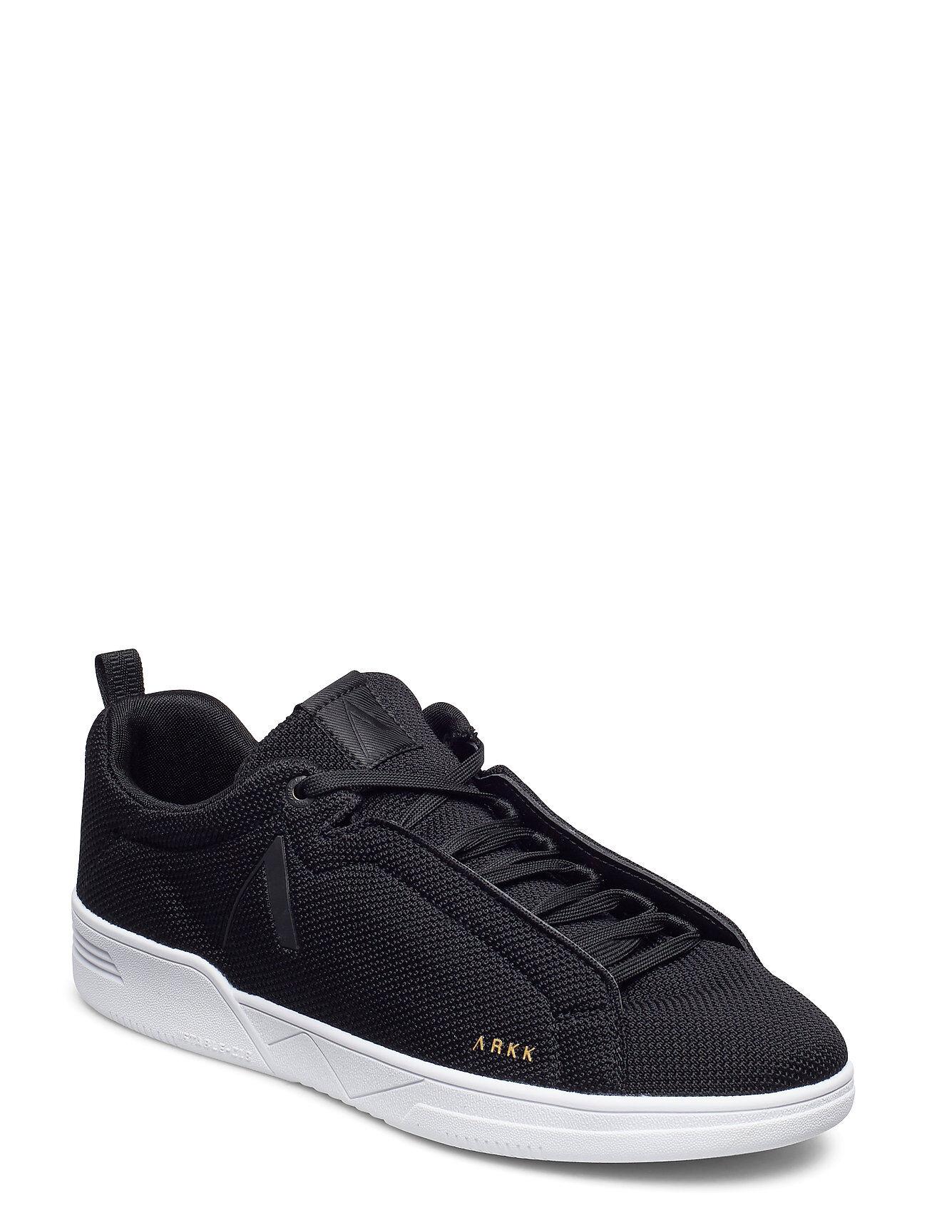 ARKK Copenhagen Uniklass Fg S-C18 Black White - Men Matalavartiset Sneakerit Tennarit Musta ARKK Copenhagen
