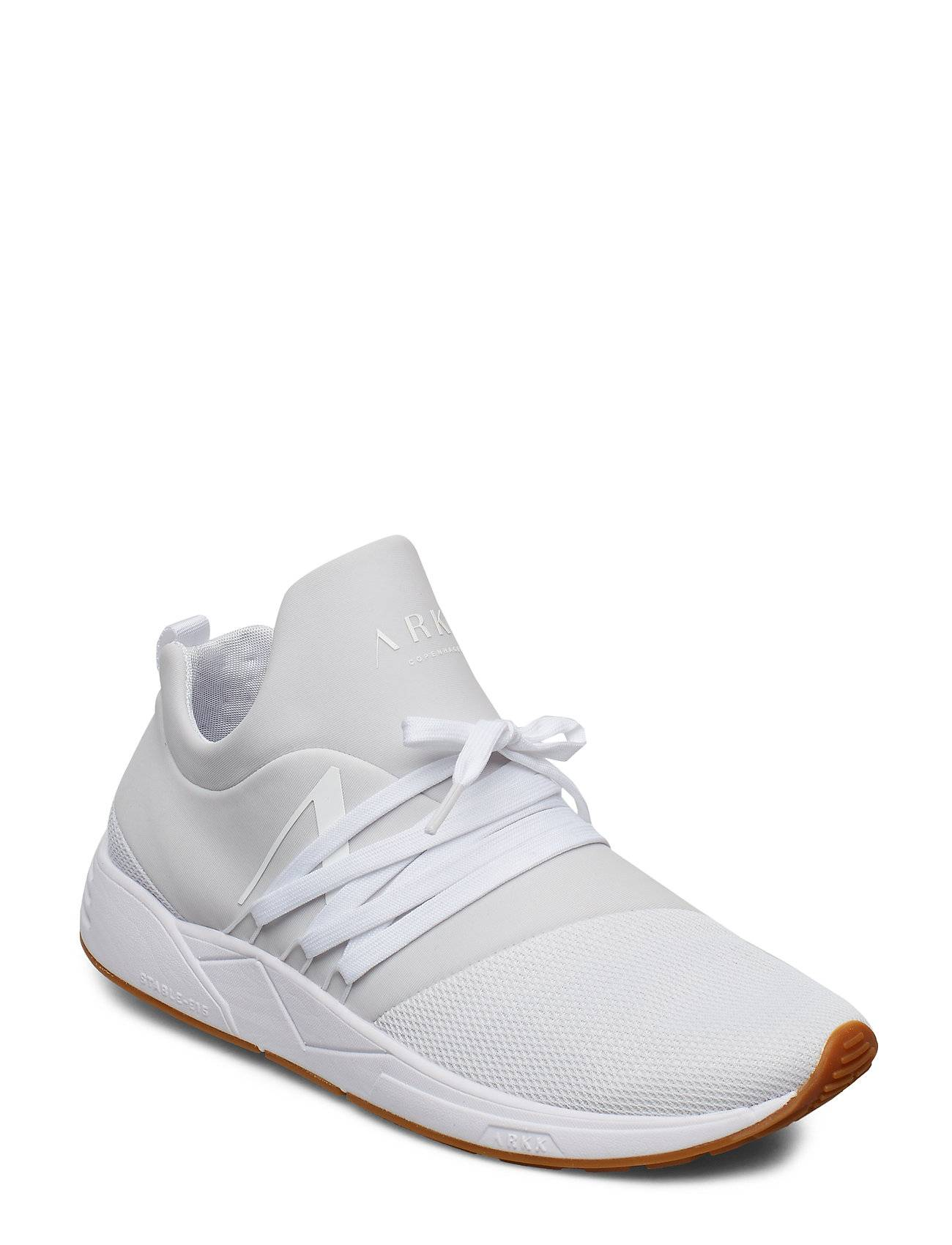 ARKK Copenhagen Raven Mesh S-E15 White Gum - Men Matalavartiset Sneakerit Tennarit Valkoinen ARKK Copenhagen
