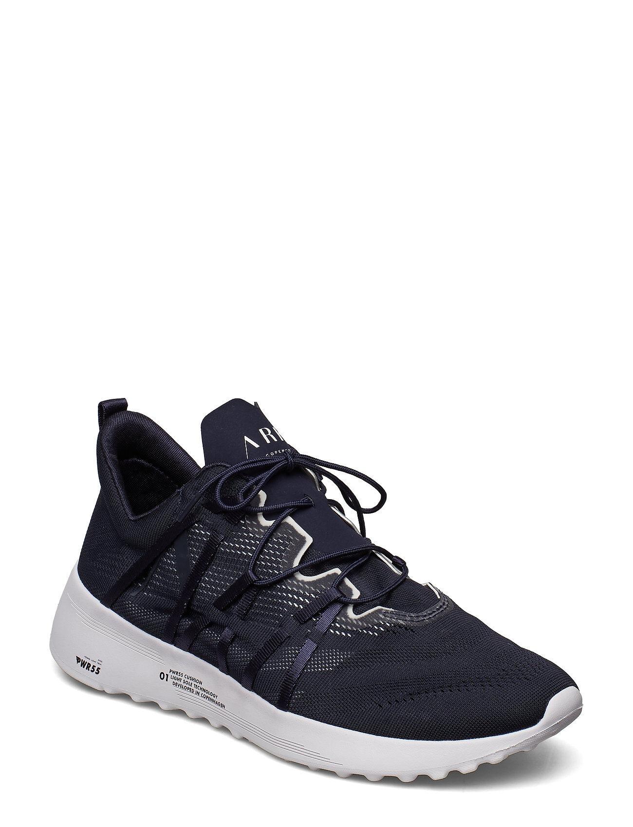 ARKK Copenhagen Velcalite Cm Pwr55 Midnight White - Matalavartiset Sneakerit Tennarit Musta ARKK Copenhagen
