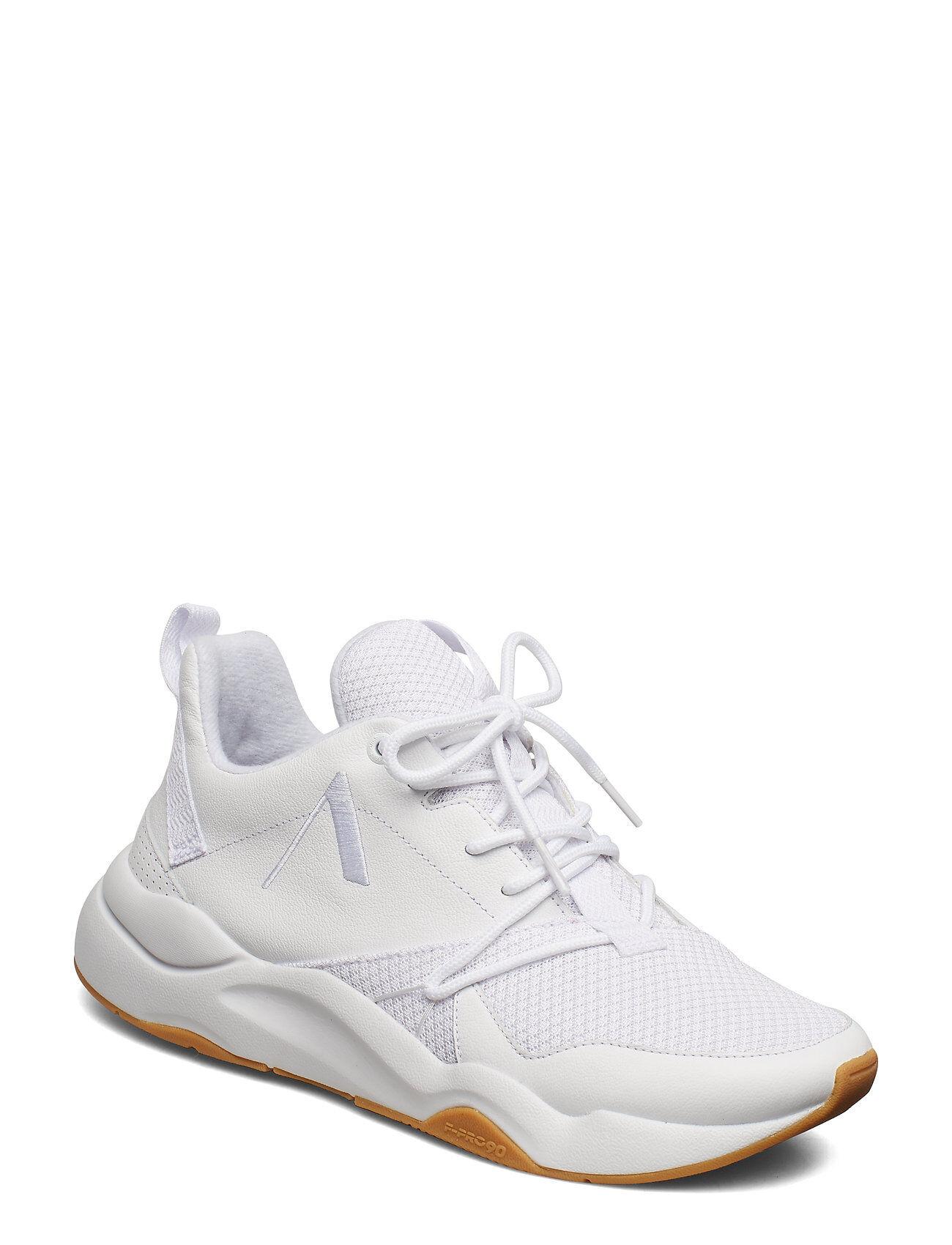 ARKK Copenhagen Asymtrix Mesh F-Pro90 All White Lig Matalavartiset Sneakerit Tennarit Valkoinen ARKK Copenhagen