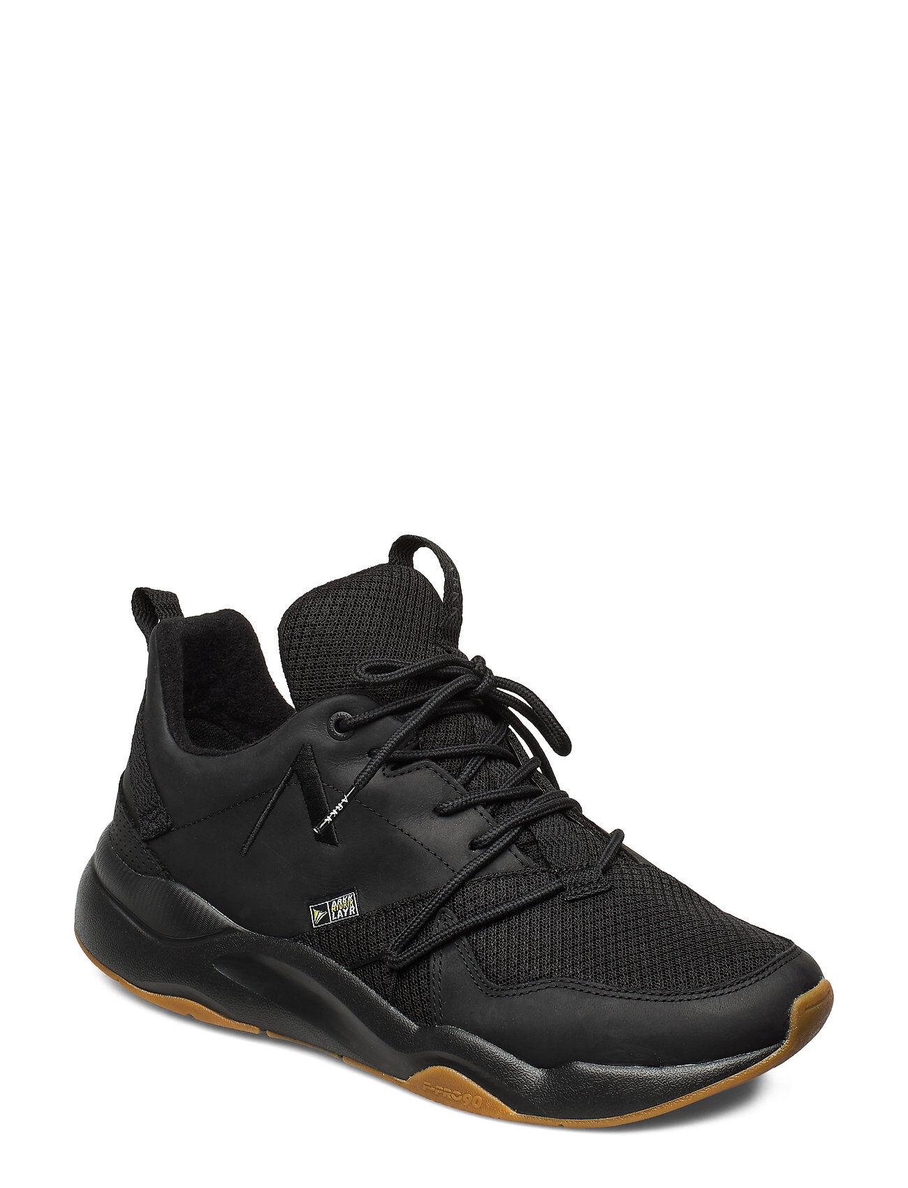 ARKK Copenhagen Asymtrix Mesh Hl F-Pro90 Black Gum- Matalavartiset Sneakerit Tennarit Musta ARKK Copenhagen