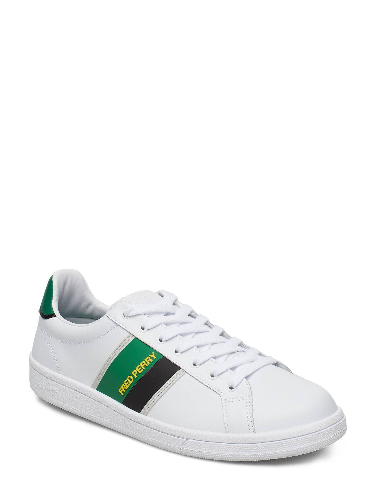 Fred Perry B721 Two T Brand. Matalavartiset Sneakerit Tennarit Valkoinen Fred Perry