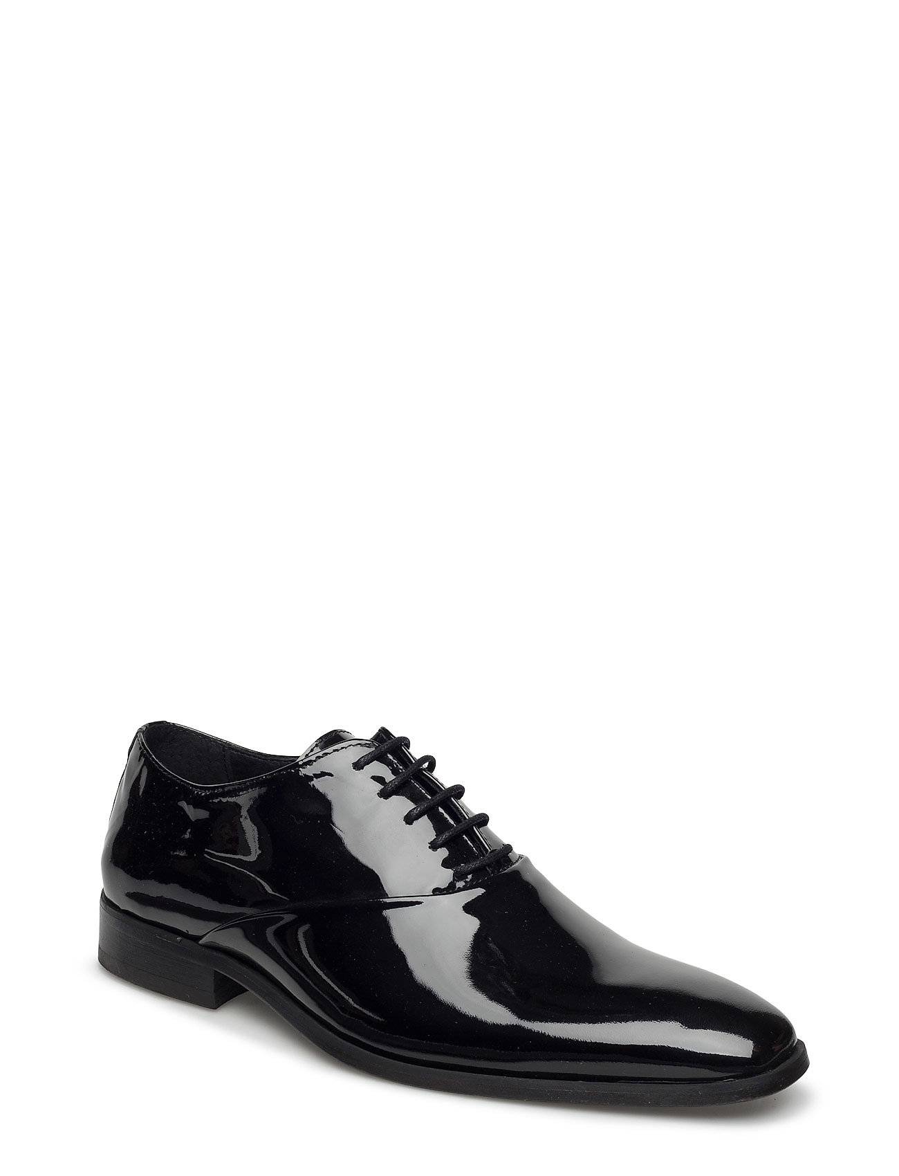 Playboy Footwear Patent Shoe Shoes Business Formal Shoes Musta Playboy Footwear