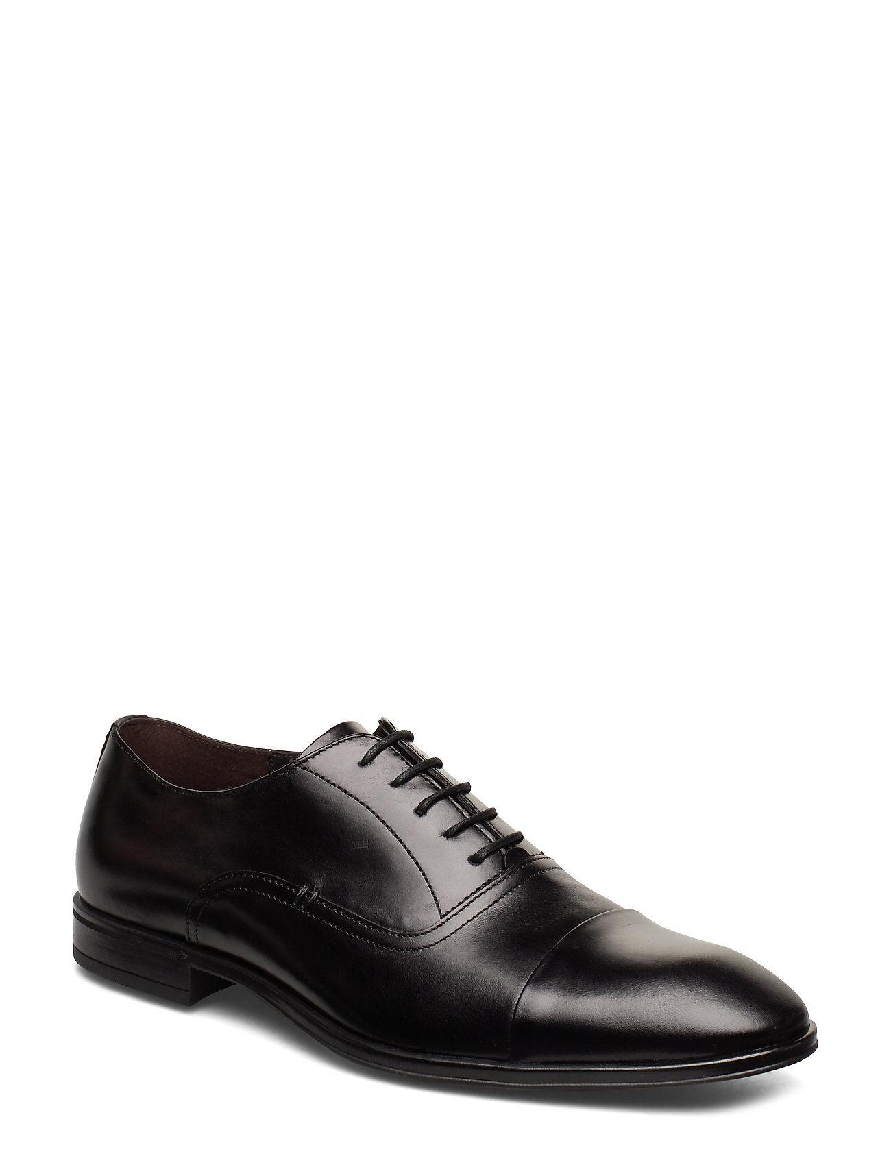 Playboy Footwear 2498 Shoes Business Laced Shoes Musta Playboy Footwear
