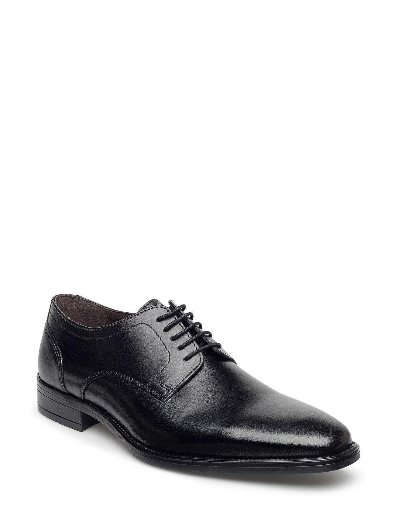 Playboy Footwear 6508 Shoes Business Laced Shoes Musta Playboy Footwear