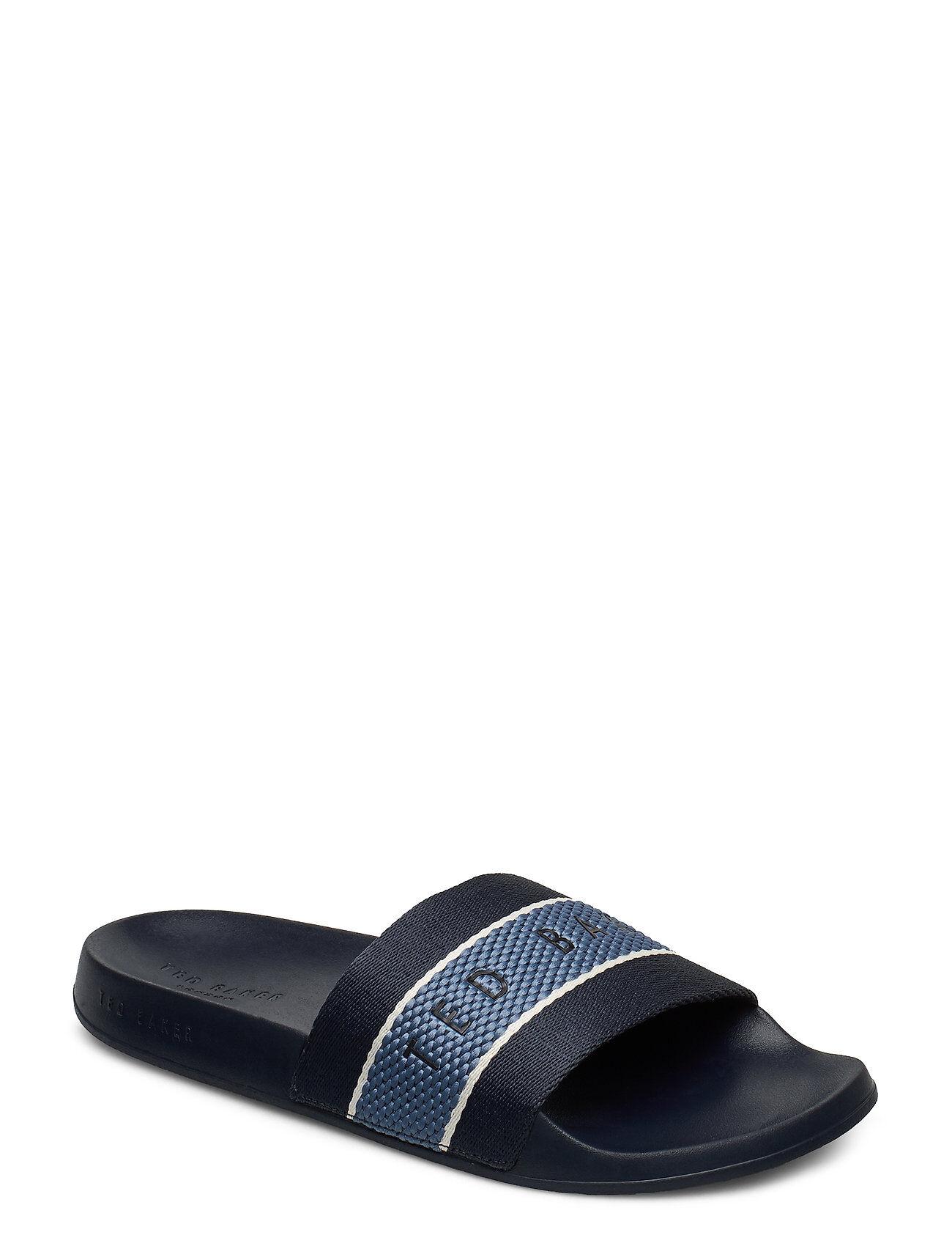 Ted Baker Rastar Shoes Summer Shoes Pool Sliders Sininen Ted Baker