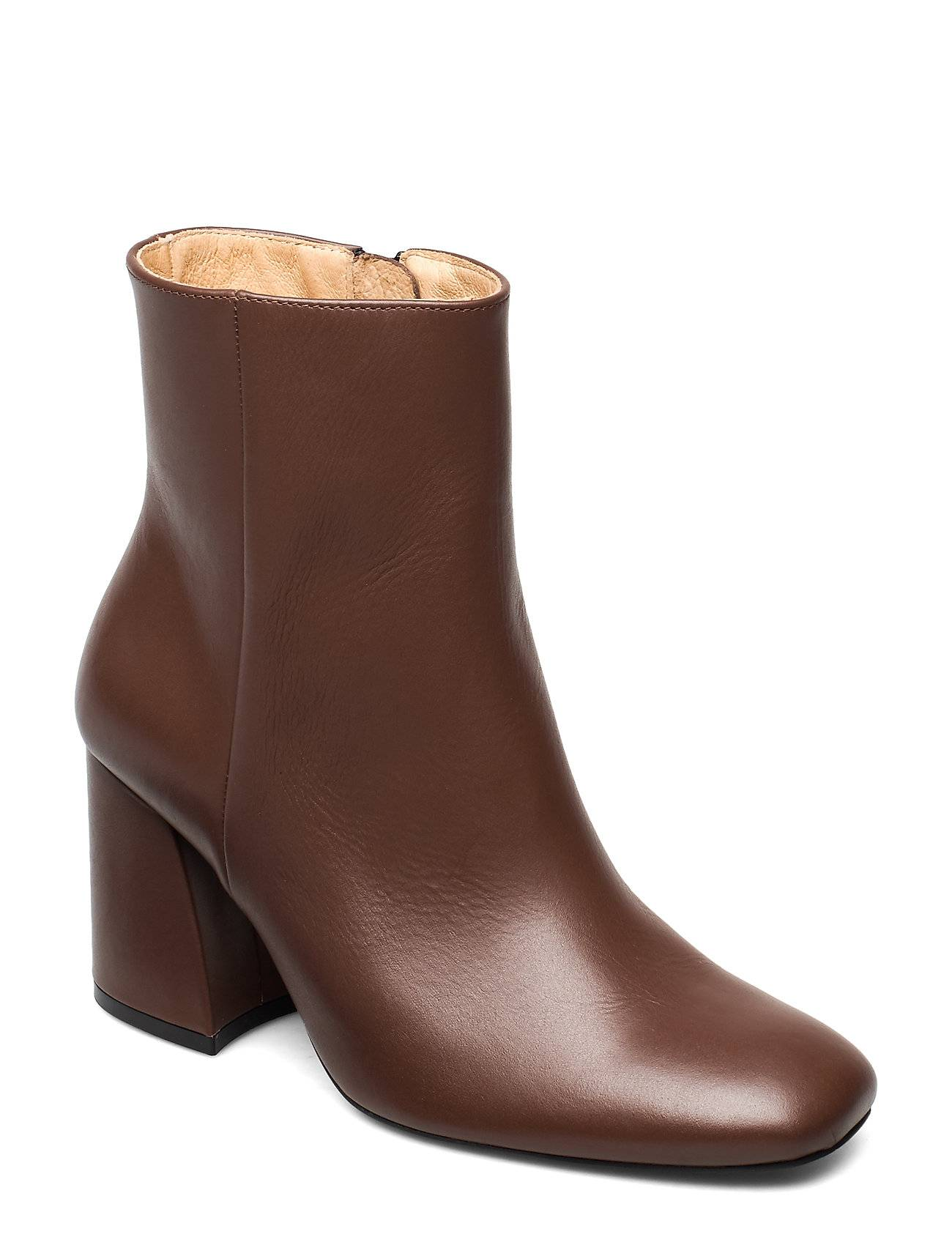 ANNY NORD Ms Steinem Shoes Boots Ankle Boots Ankle Boots With Heel Ruskea