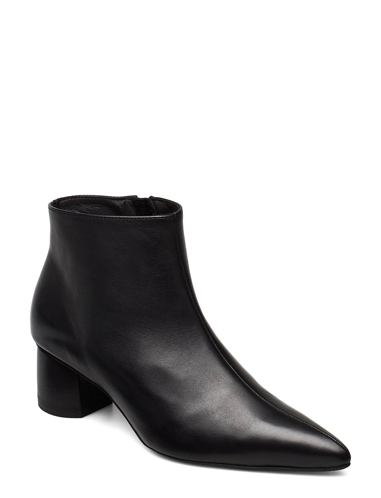 ANNY NORD To The Moon And Back Shoes Boots Ankle Boots Ankle Boot - Heel Musta ANNY NORD