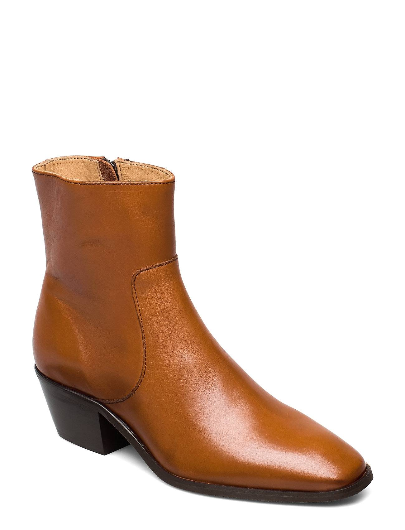 ANNY NORD Anny Drop Your Gun Shoes Boots Ankle Boots Ankle Boots With Heel Ruskea