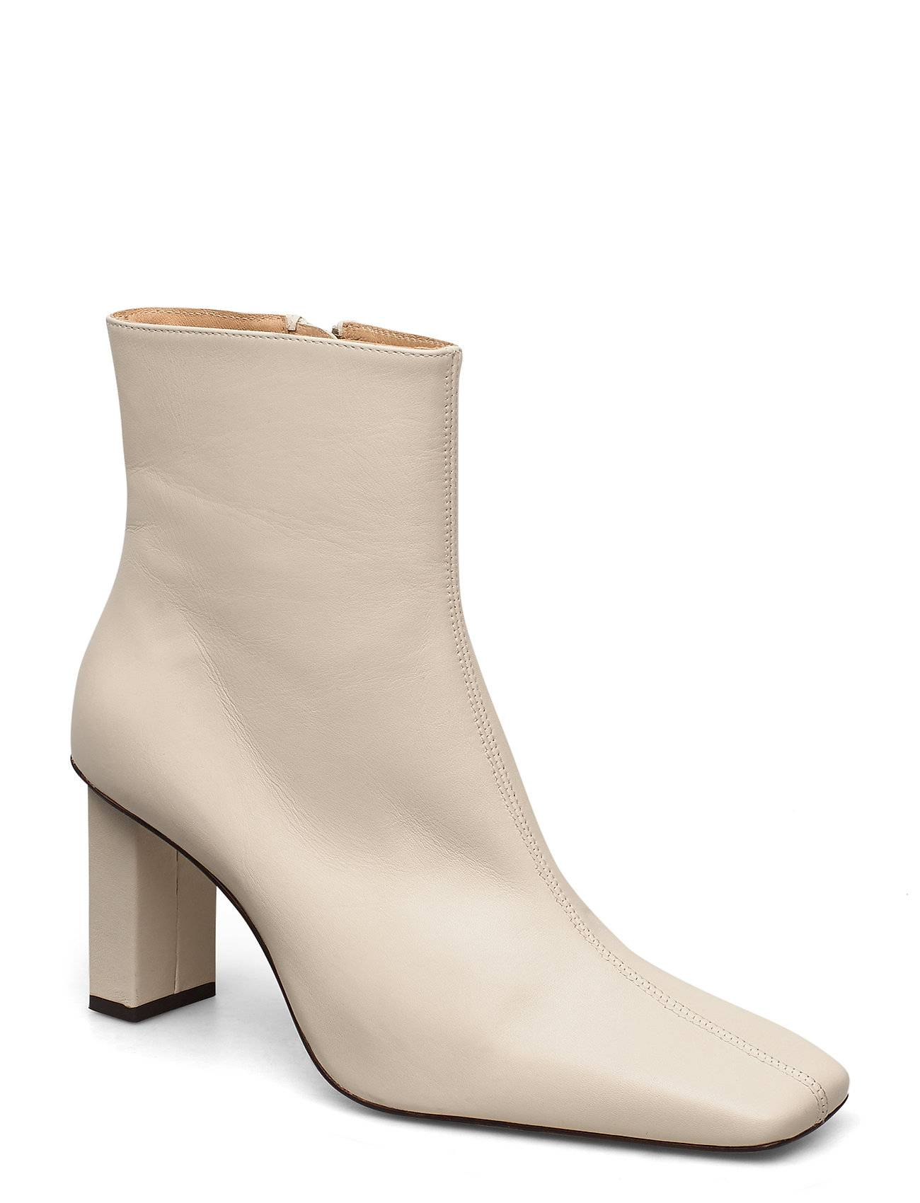 ANNY NORD Joan Le CarrÉ Ankle Boot Shoes Boots Ankle Boots Ankle Boot - Heel Kermanvärinen ANNY NORD