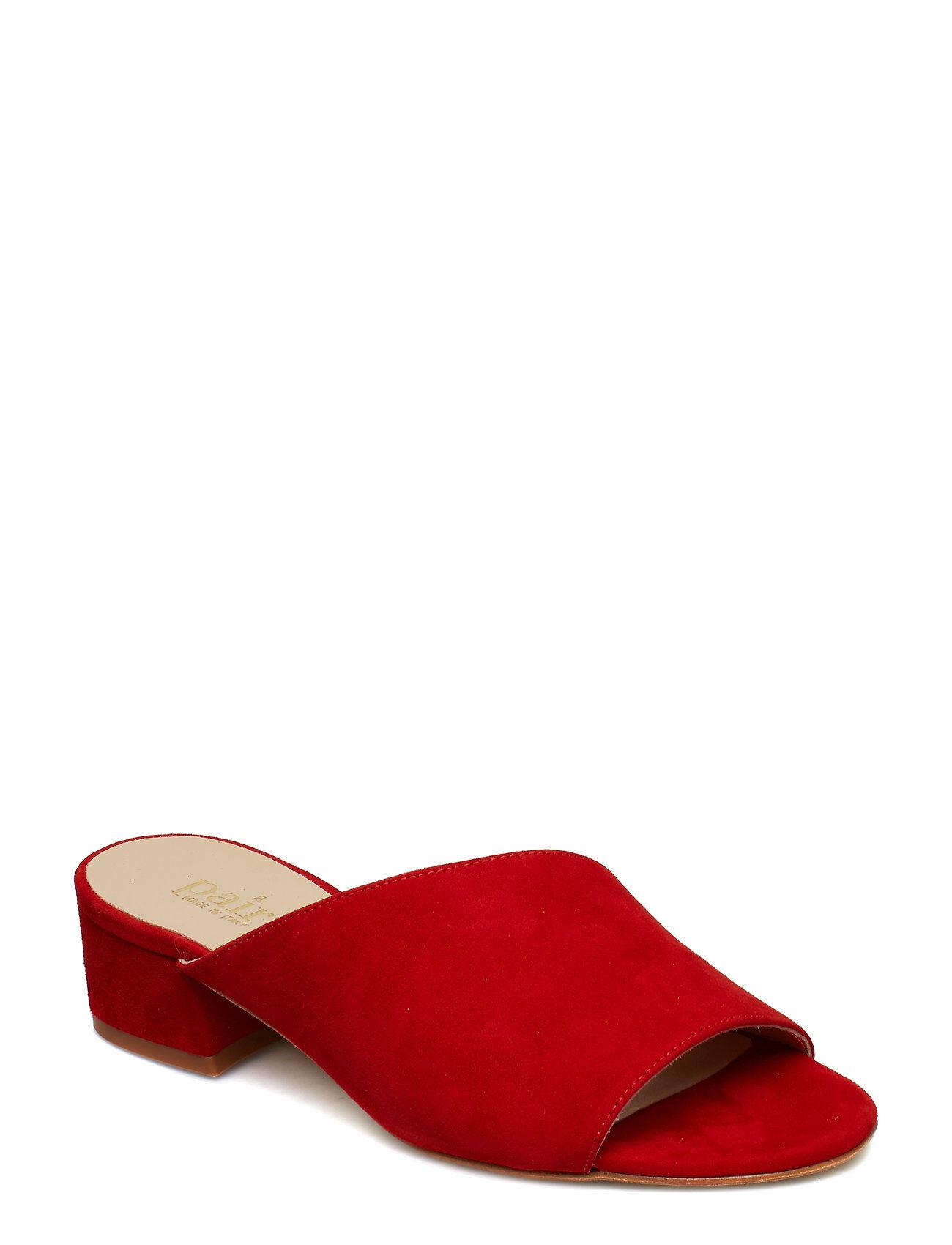 Apair Asymmetric Slip In Korolliset Sandaalit Punainen Apair