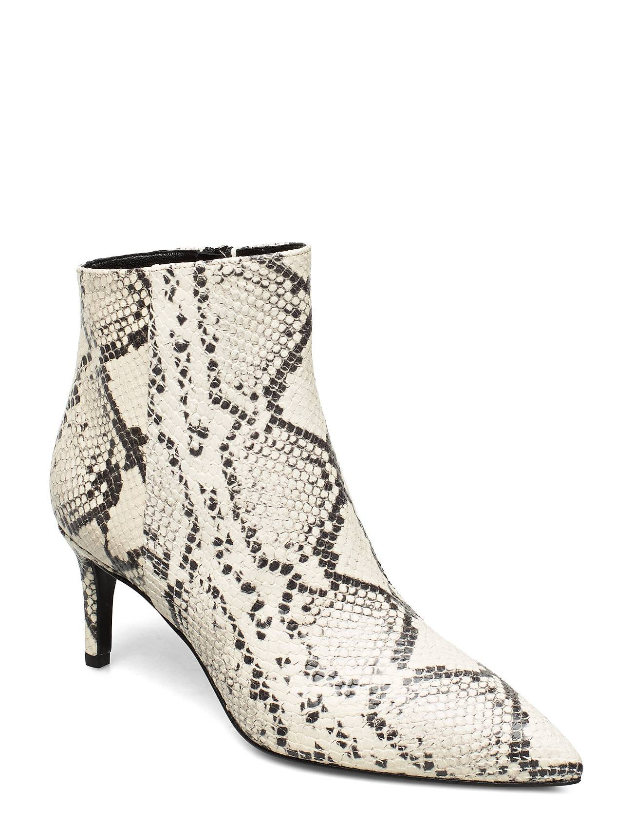 Apair Pointed Bootie Low High Front Shoes Boots Ankle Boots Ankle Boots With Heel Kermanvärinen Apair