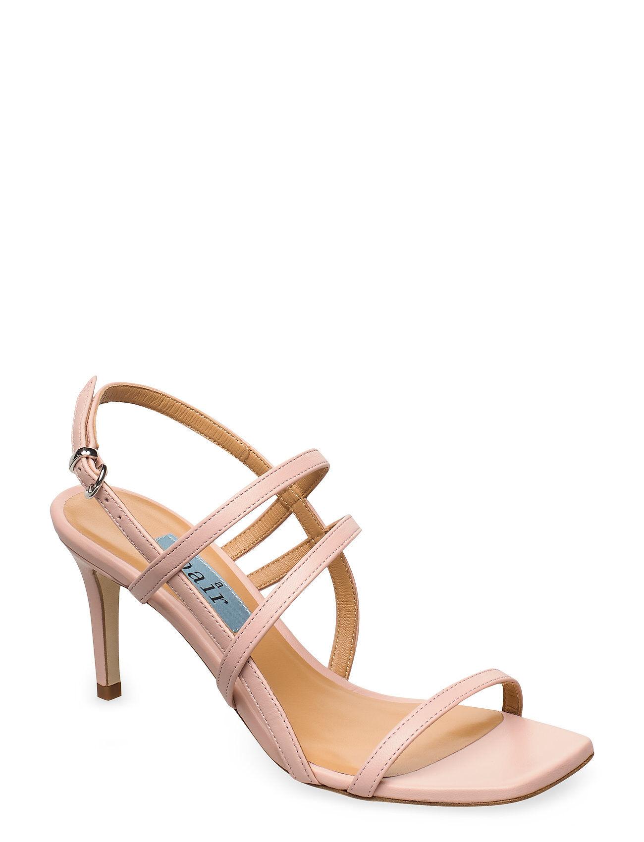 Apair Square String Sandal Korolliset Sandaalit Vaaleanpunainen Apair