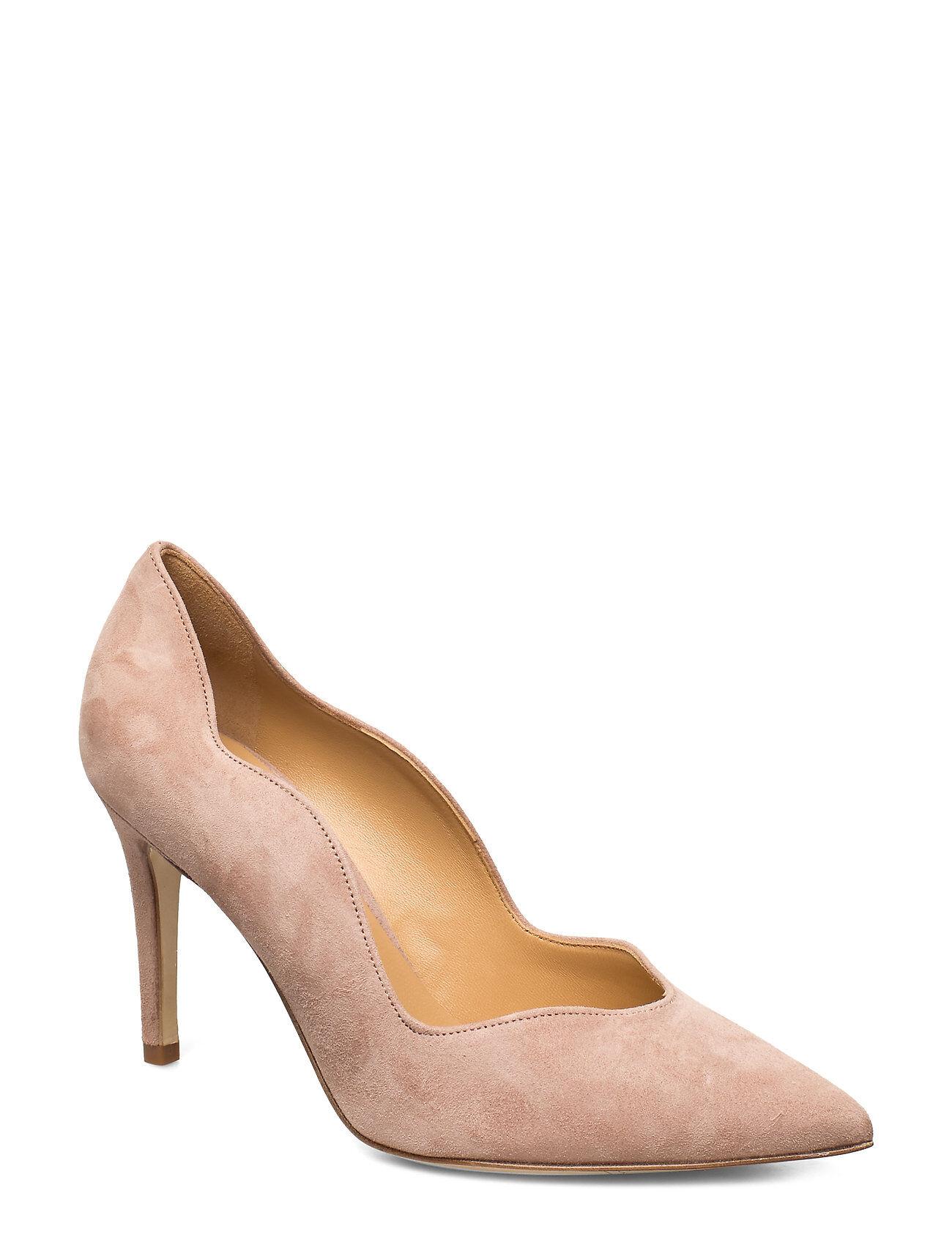 Apair Wave Pump High Shoes Heels Pumps Classic Beige Apair
