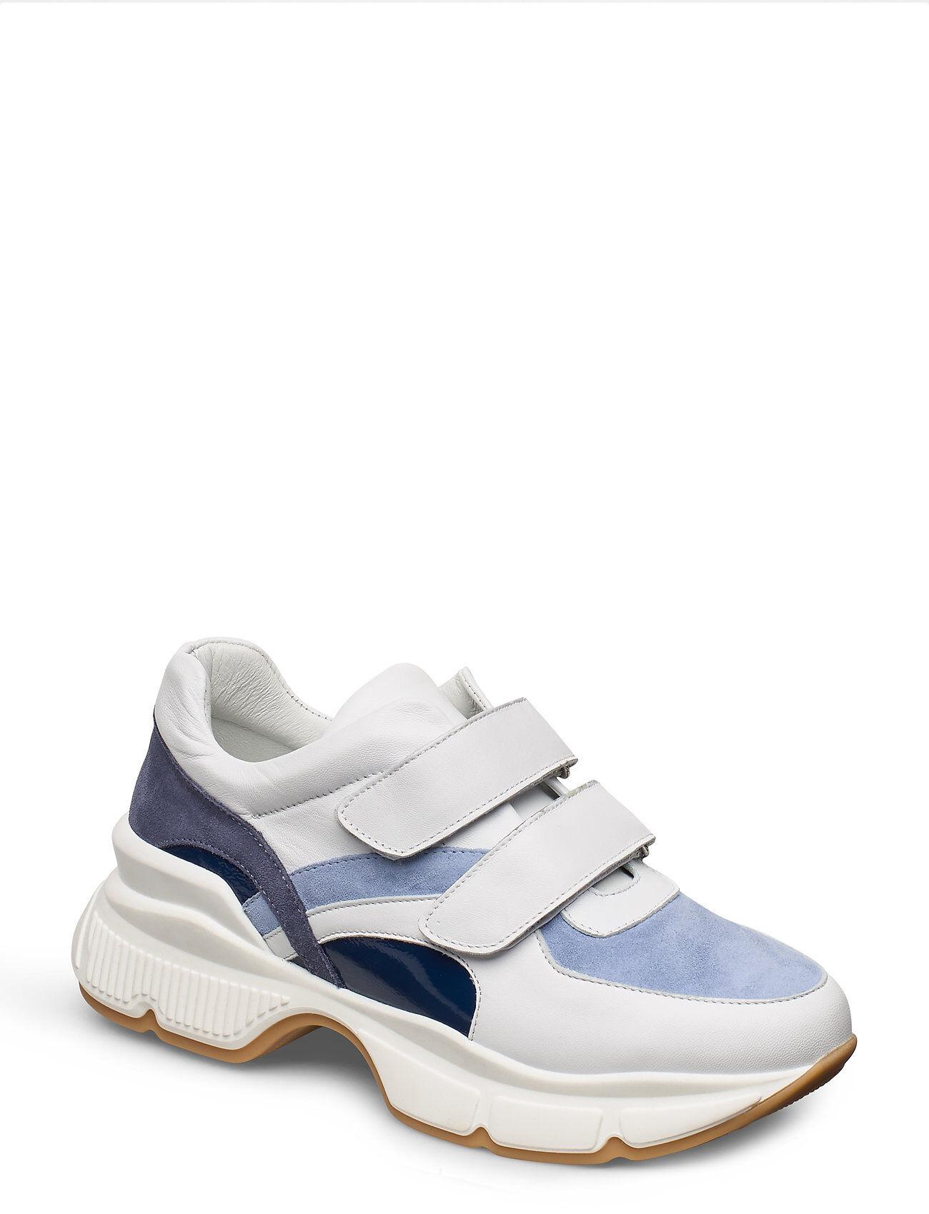Apair Hole Sole Velcro Color Mix Matalavartiset Sneakerit Tennarit Valkoinen Apair