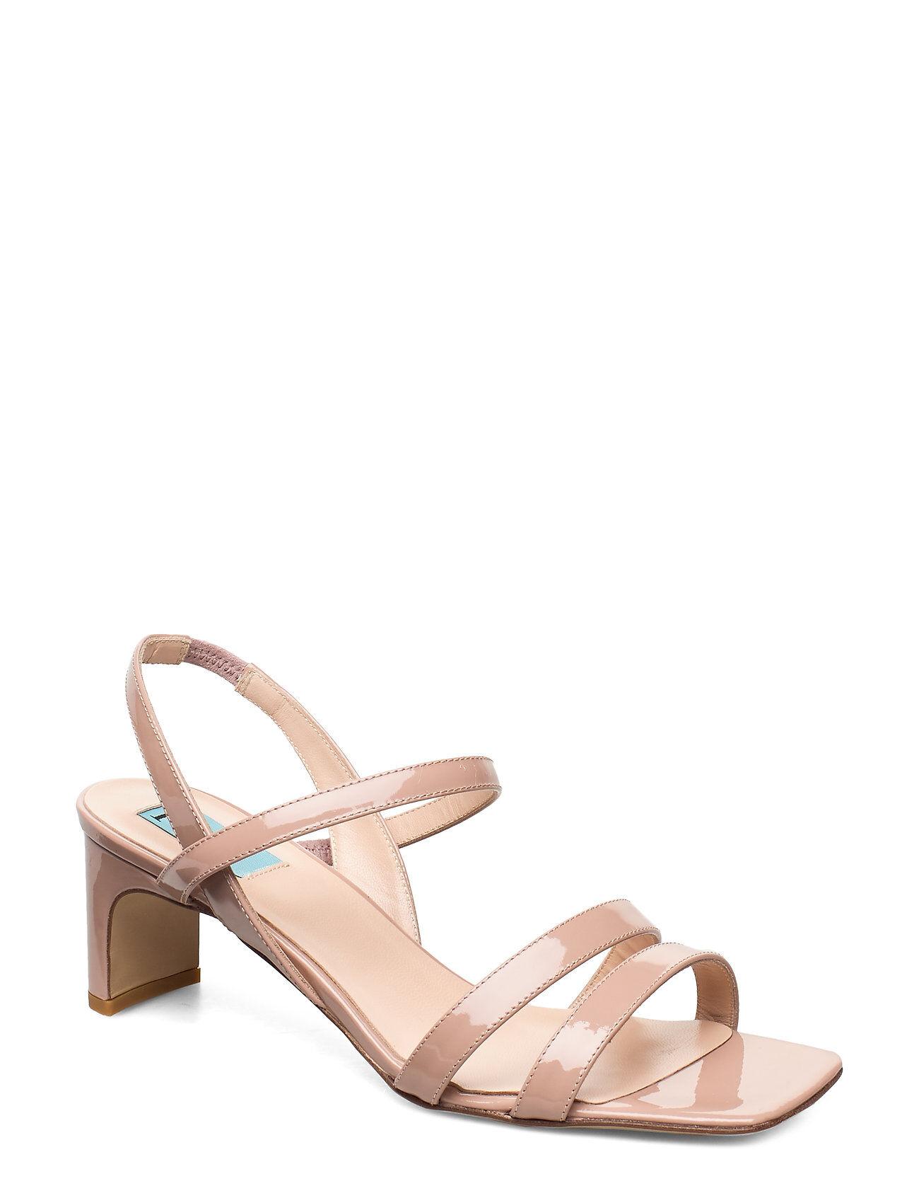 Apair New Heel String Korolliset Sandaalit Vaaleanpunainen Apair