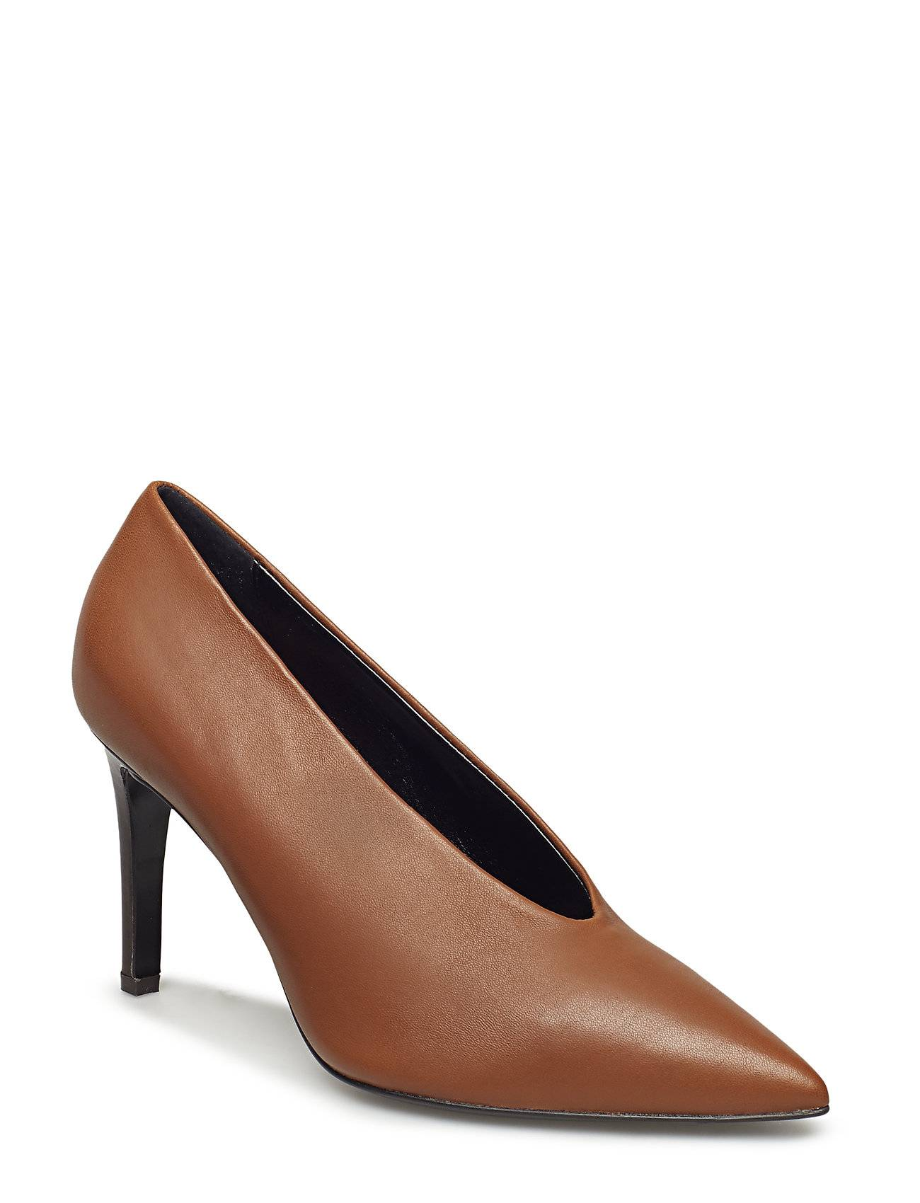 Apair Narrow Cut Shoes Heels Pumps Classic Ruskea Apair