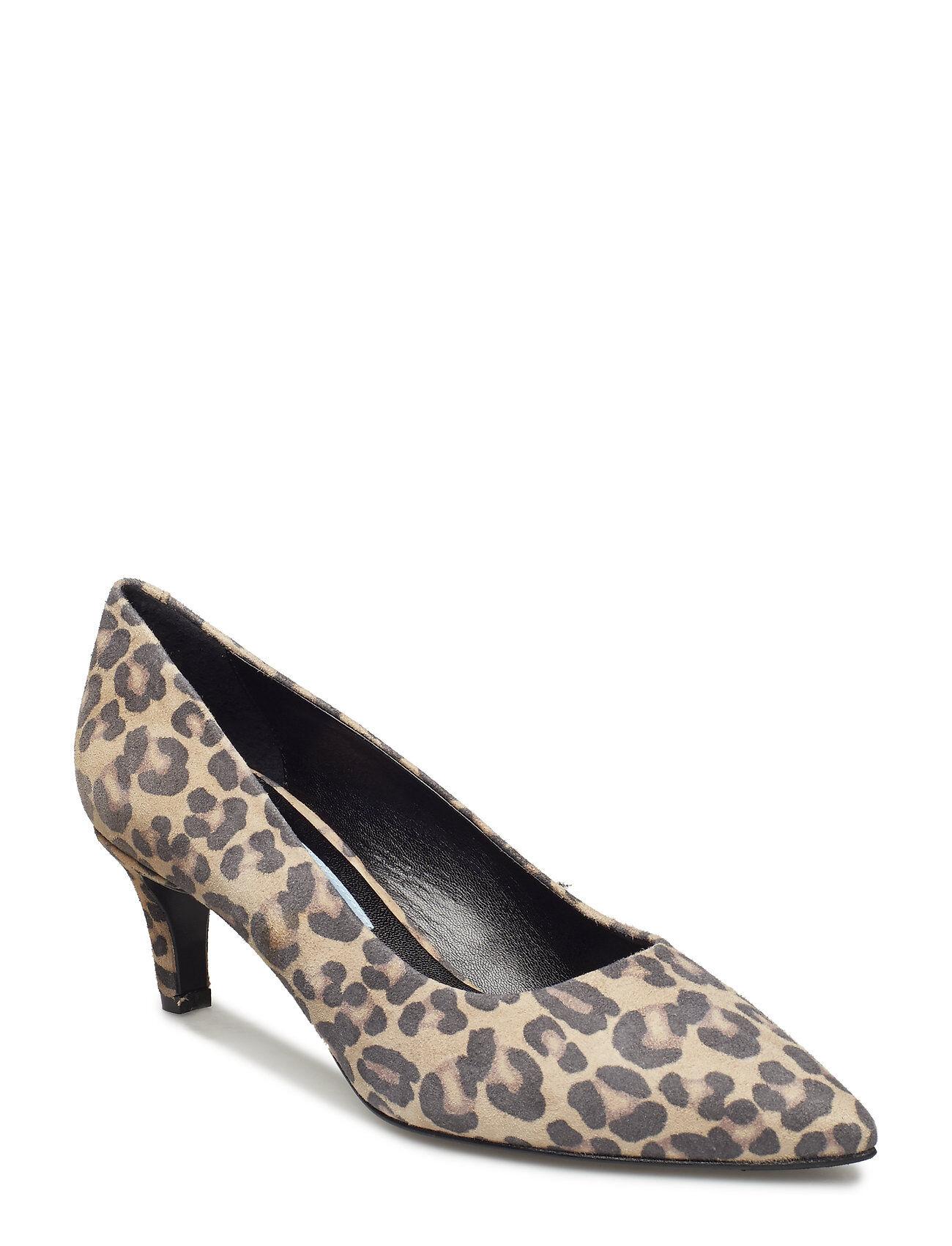 Apair Plain Pump Low Shoes Heels Pumps Classic Monivärinen/Kuvioitu Apair